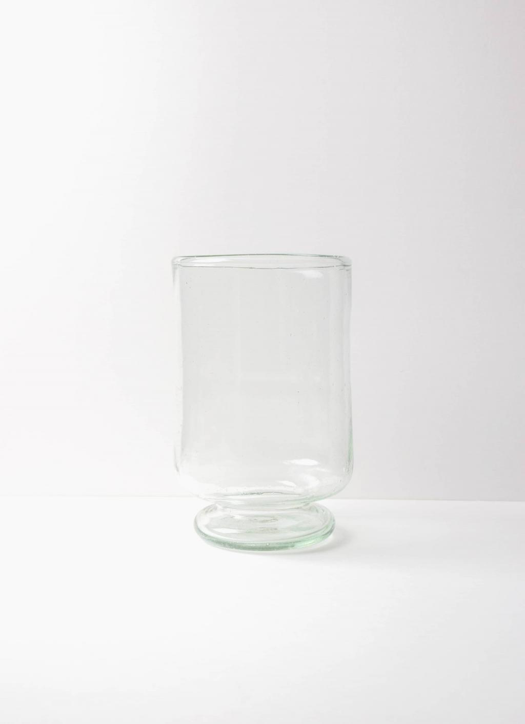 La Soufflerie - Pied Douche - Glass Vase - transparent