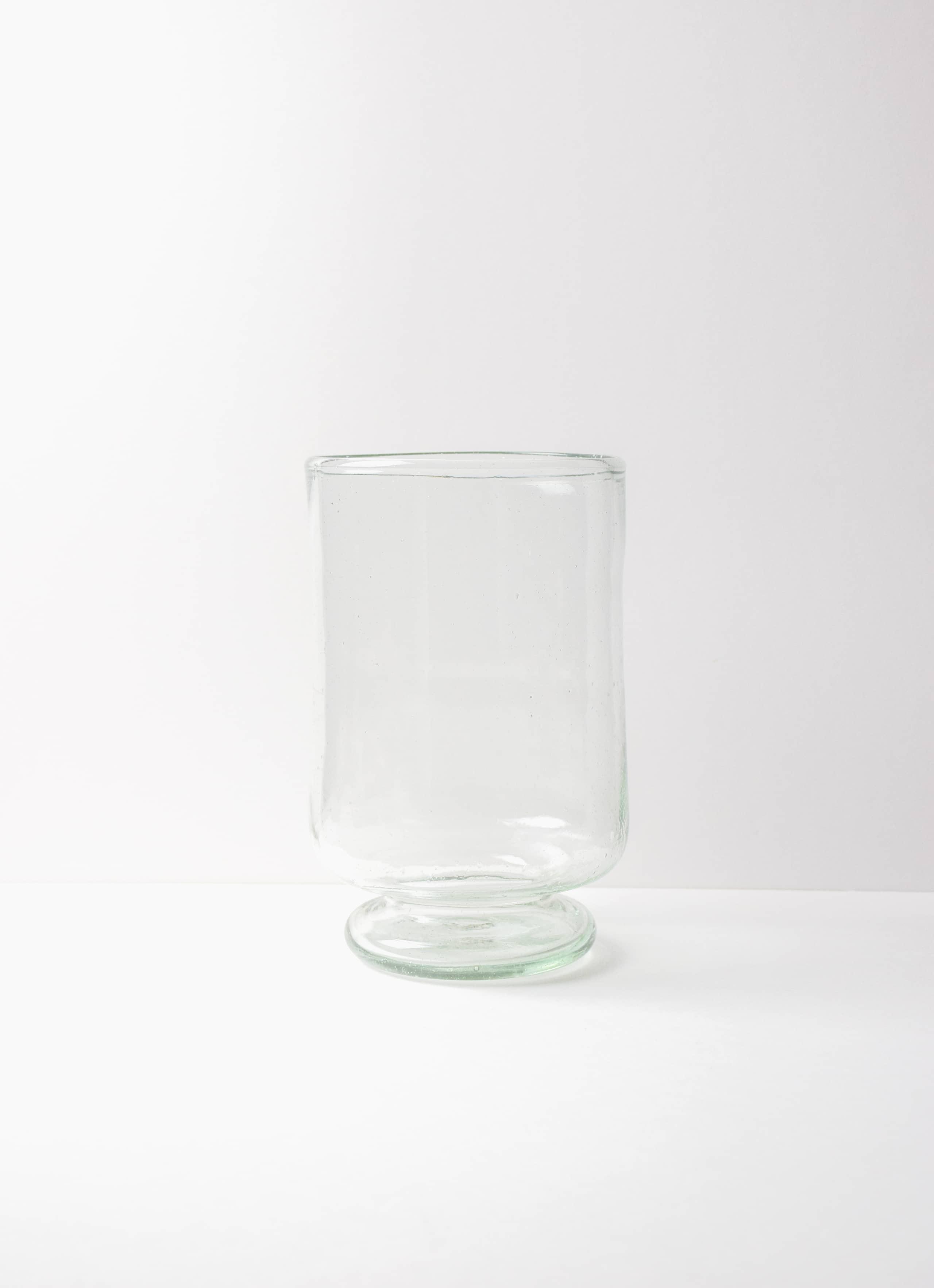 La Soufflerie - Pied Douche - Glass Vase - transparent