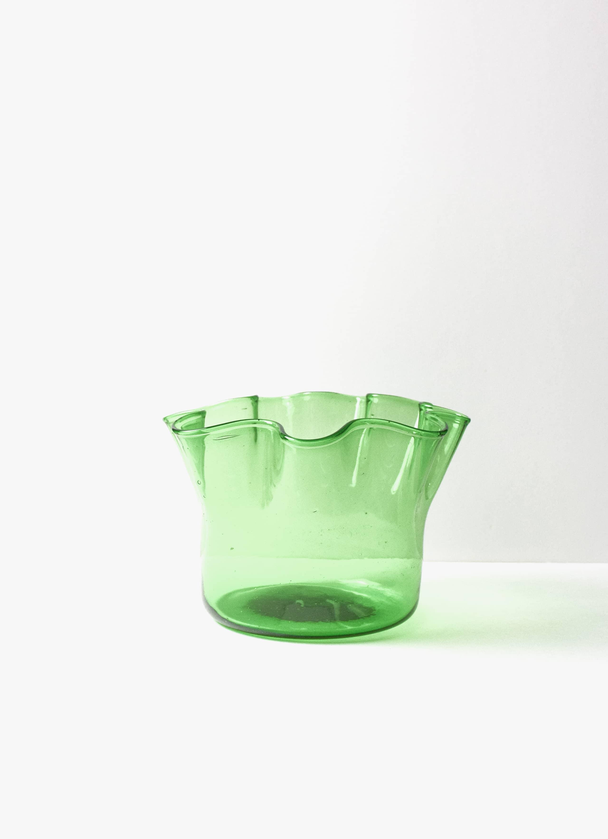 La Soufflerie - Foulard - Glass Vase - green