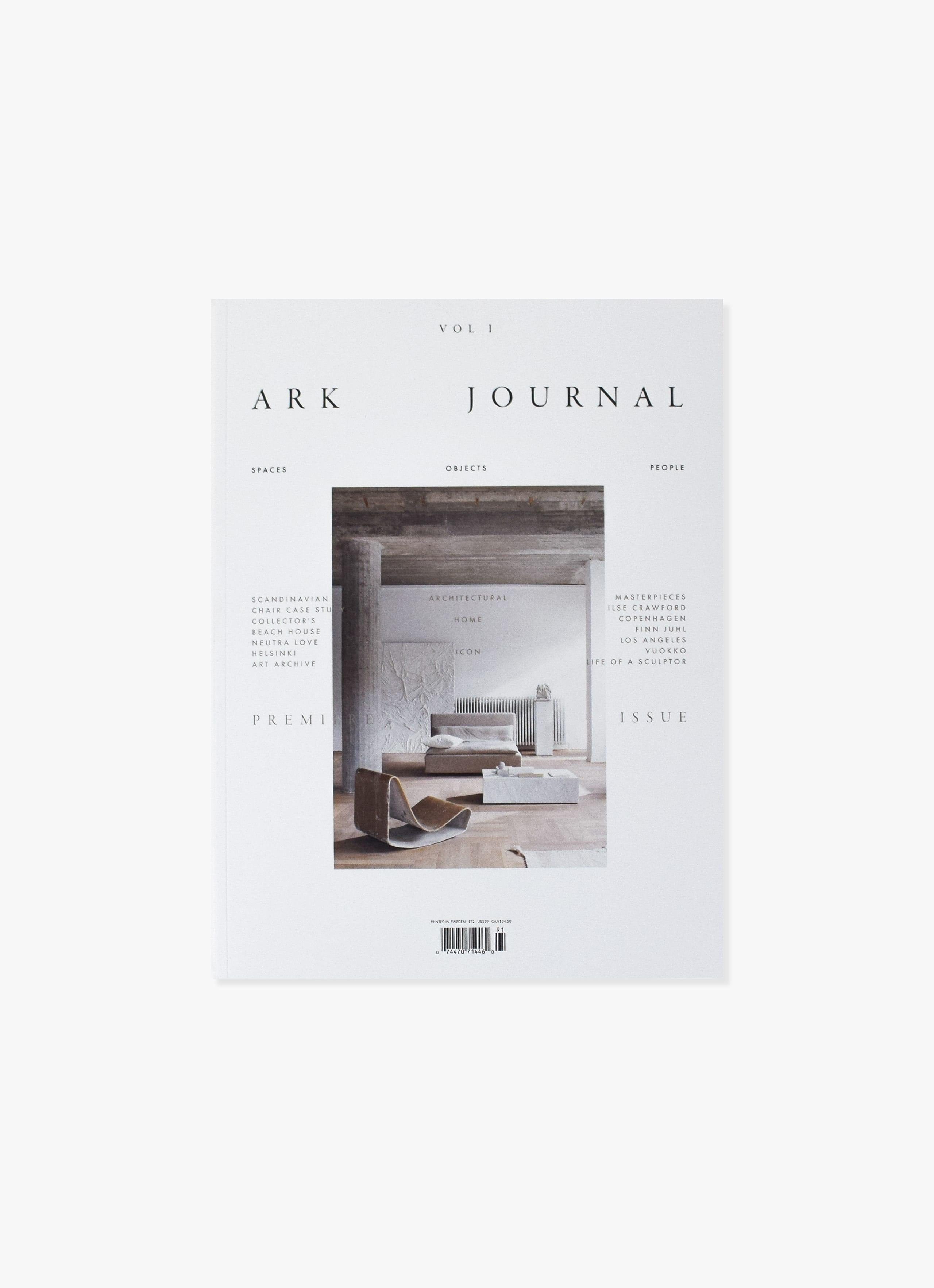 Ark Journal - Spring - Summer 2019 - Volume 1