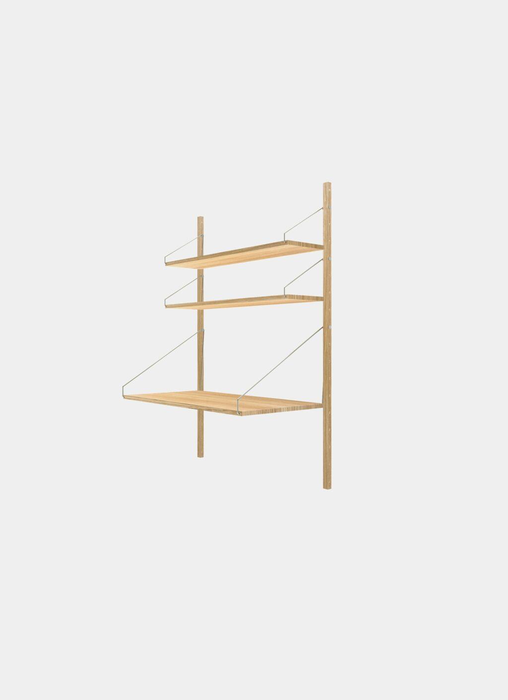 Frama - Shelf Library - Natural - H1148 - Desk Section