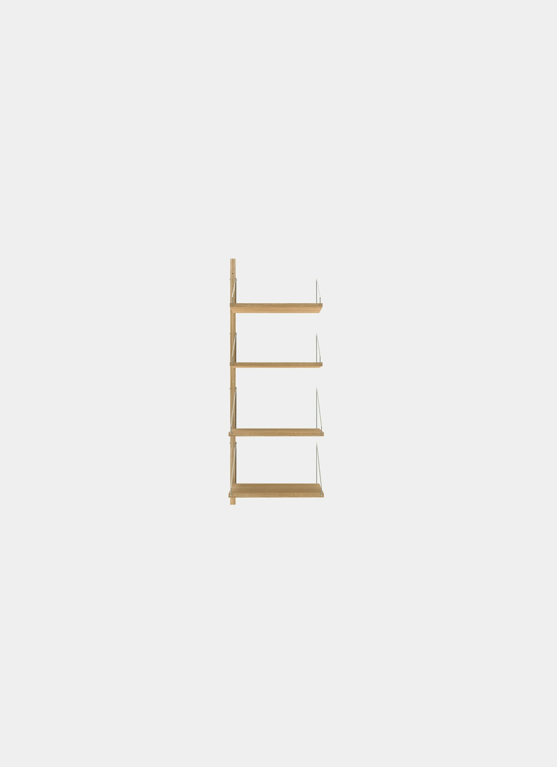 Frama - Shelf Library - Natural - H1148 - W40 Add-on Section
