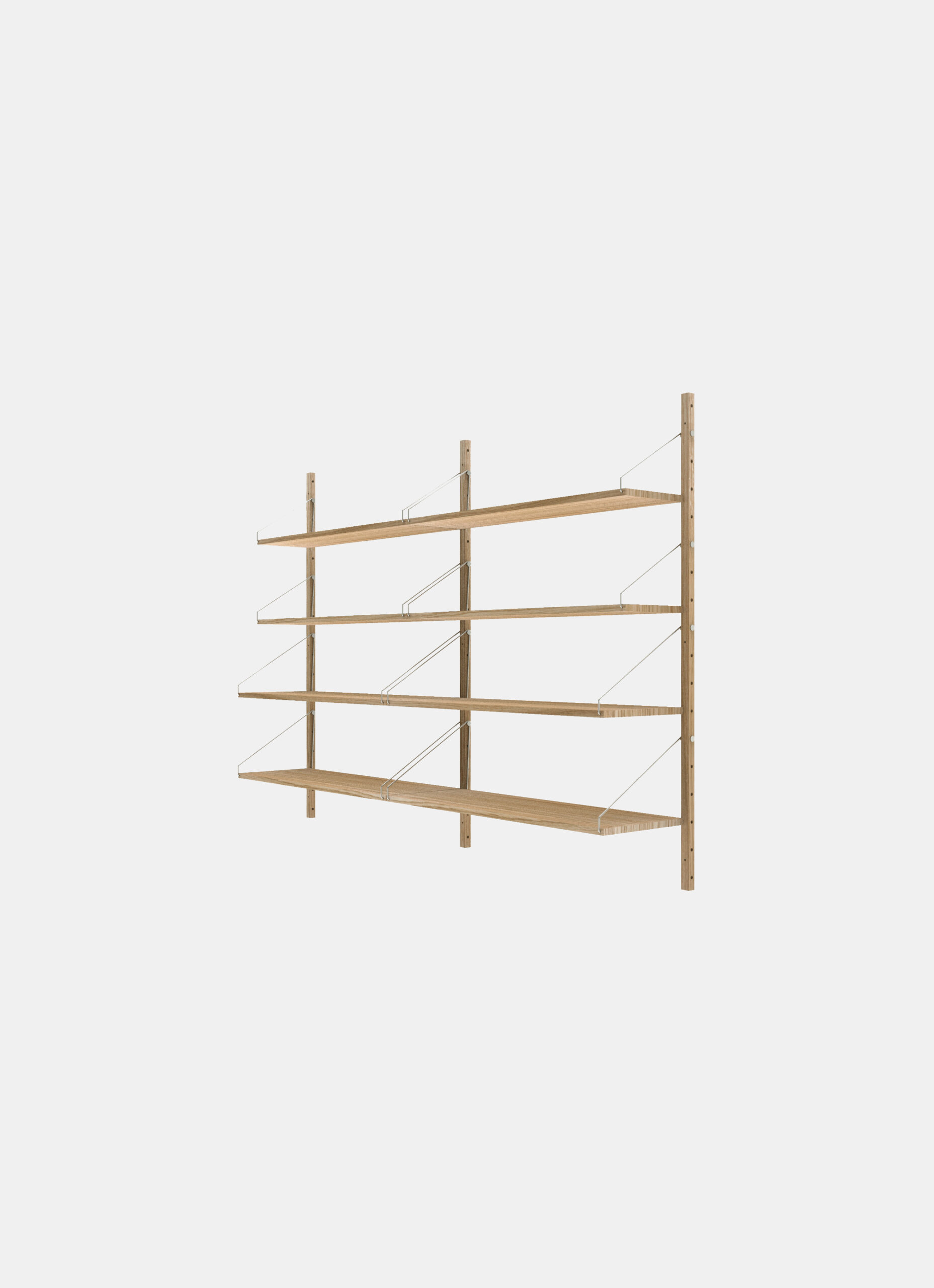 Frama - Shelf Library - Natural - H1148 - Double Section
