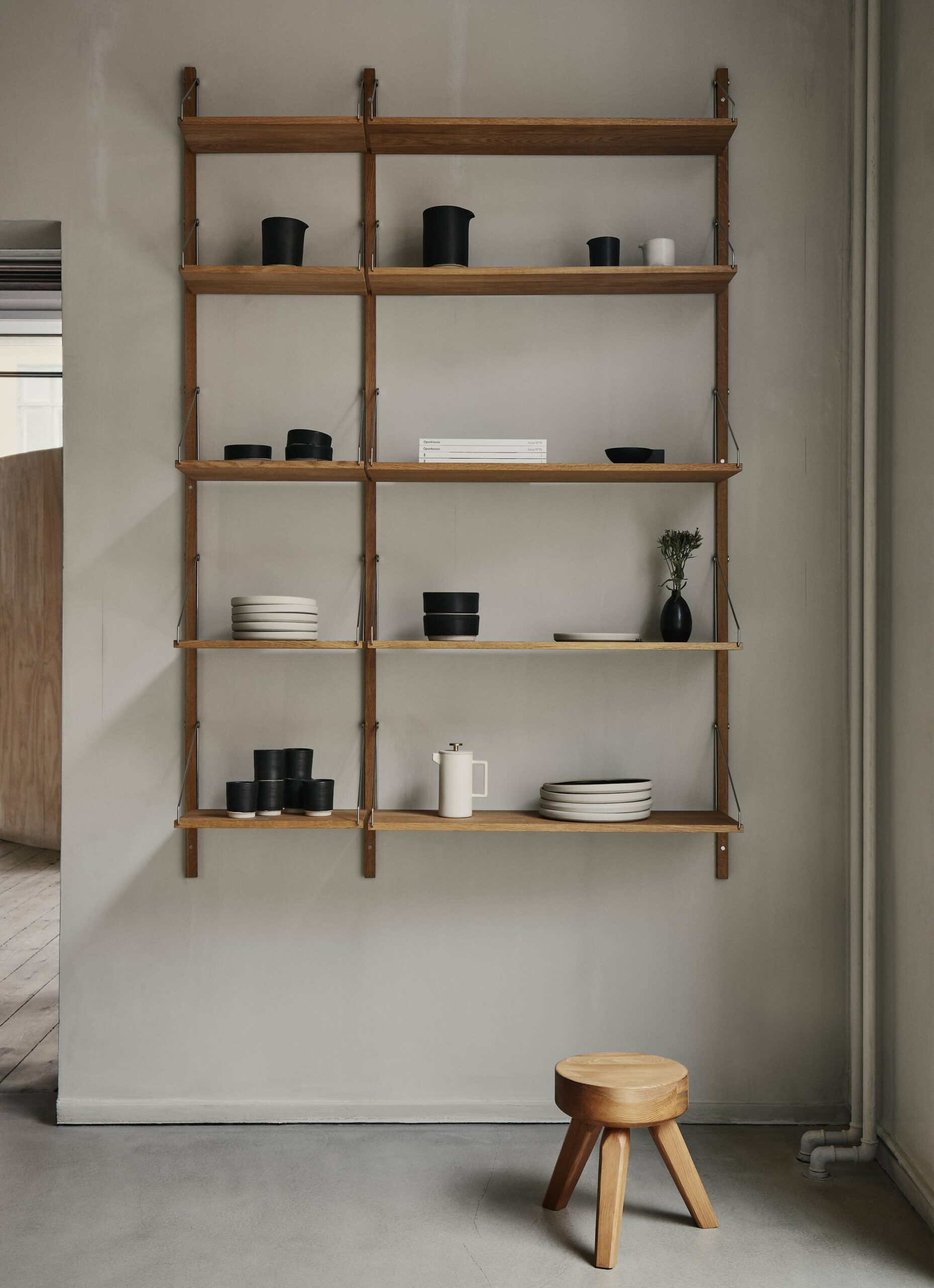 Frama - Shelf Library - Natural - H1852 - W40 Section