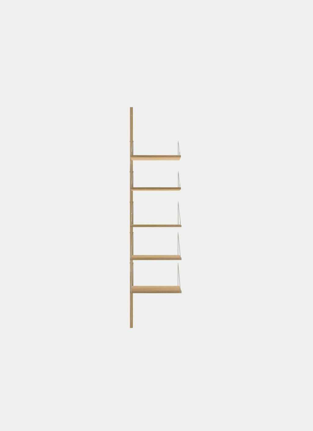 Frama - Shelf Library - Natural - H1852 - W40 Add-on Section