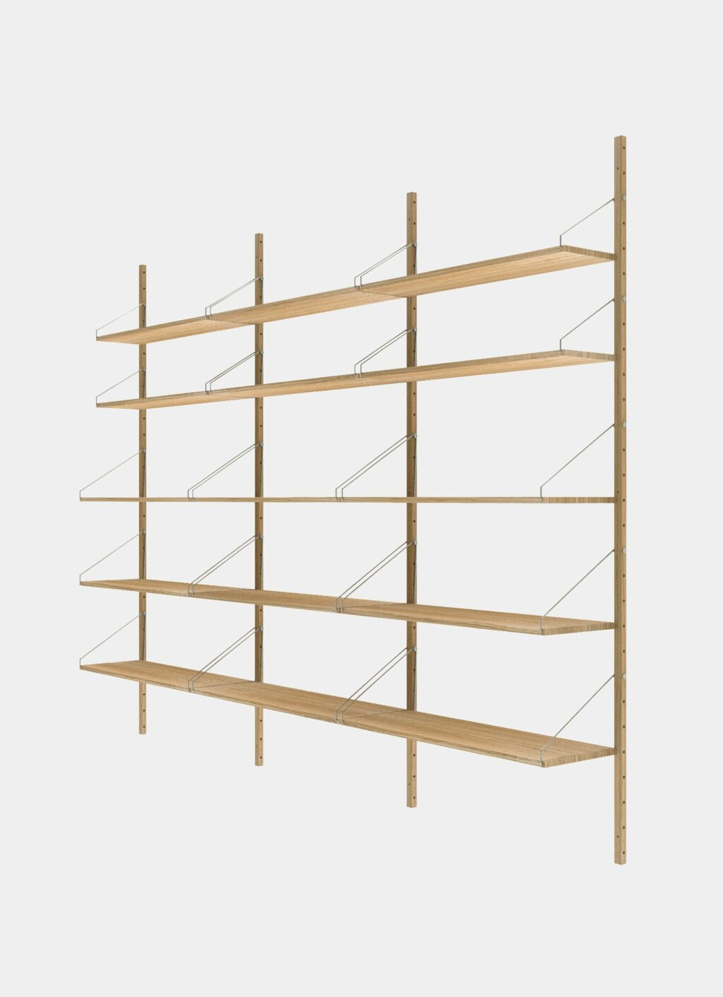 Frama - Shelf Library - Natural - H1852 - Triple Section