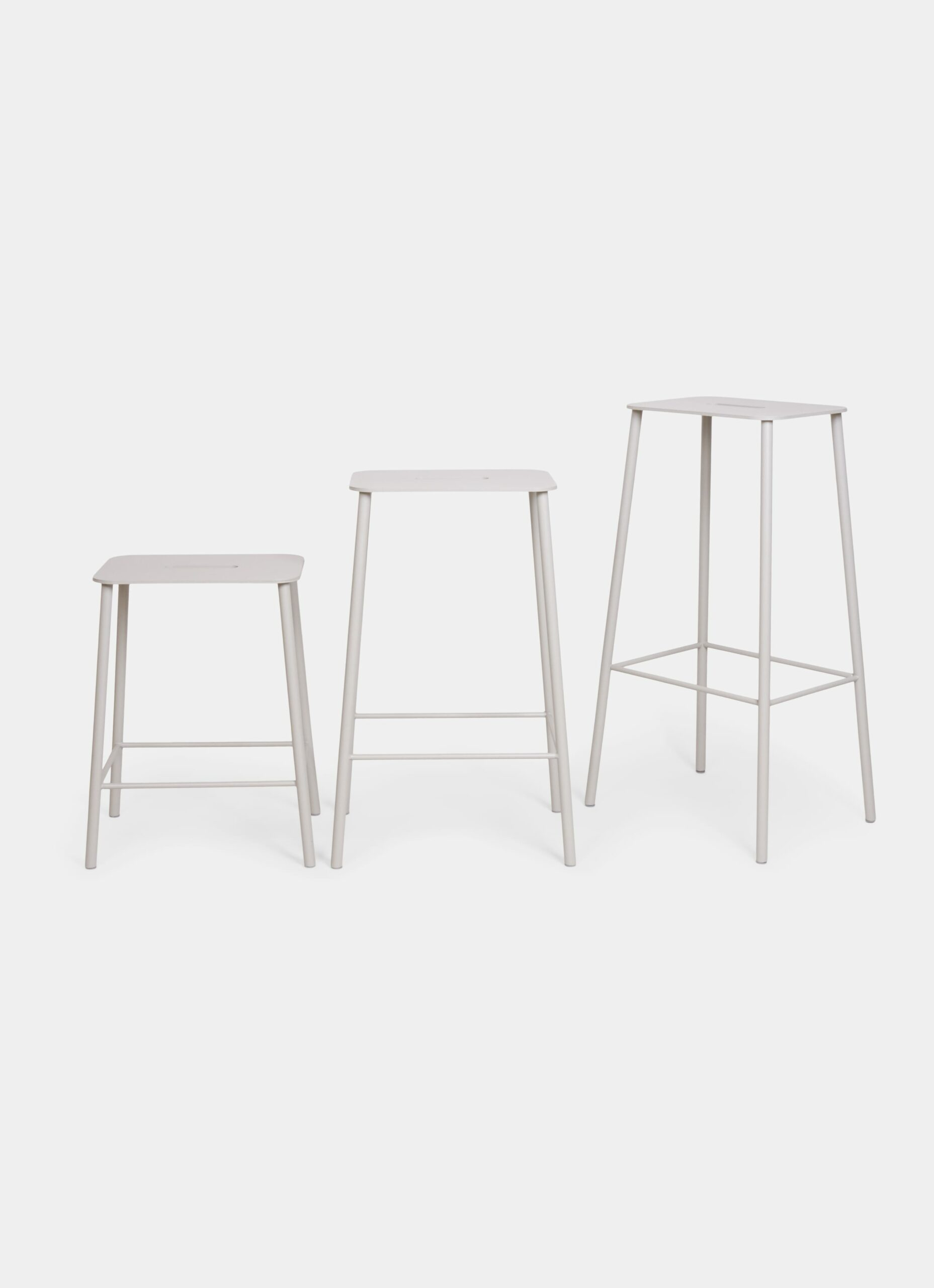 Adam Stool - Outdoor - available in 3 sizes and 3 colors