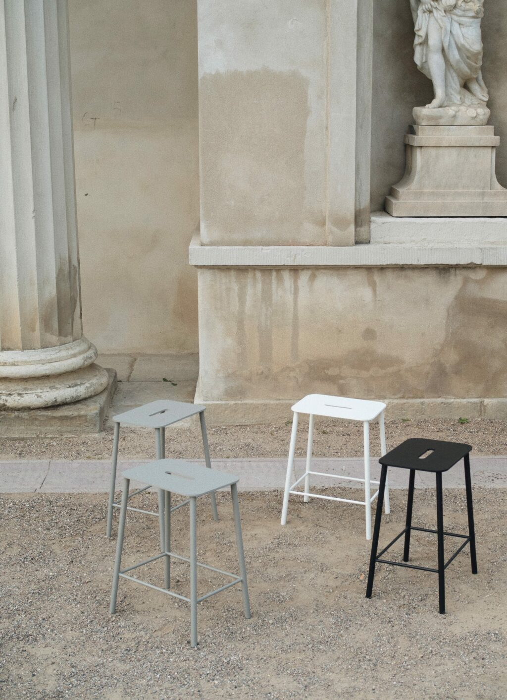Adam Stool - Mono - Outdoor - available in 3 sizes and 3 colors