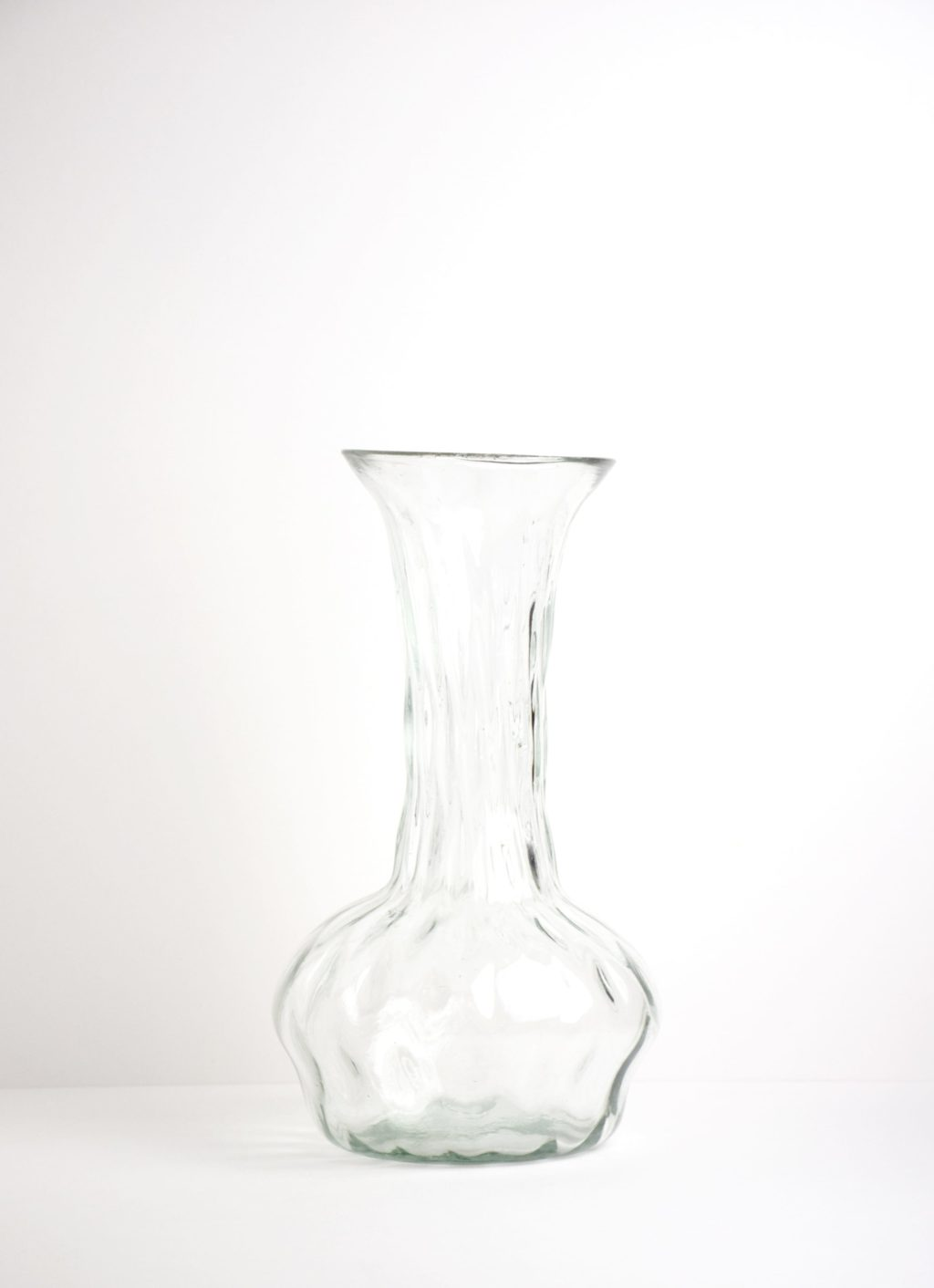 La Soufflerie - Twirl - Glass Vase - transparent