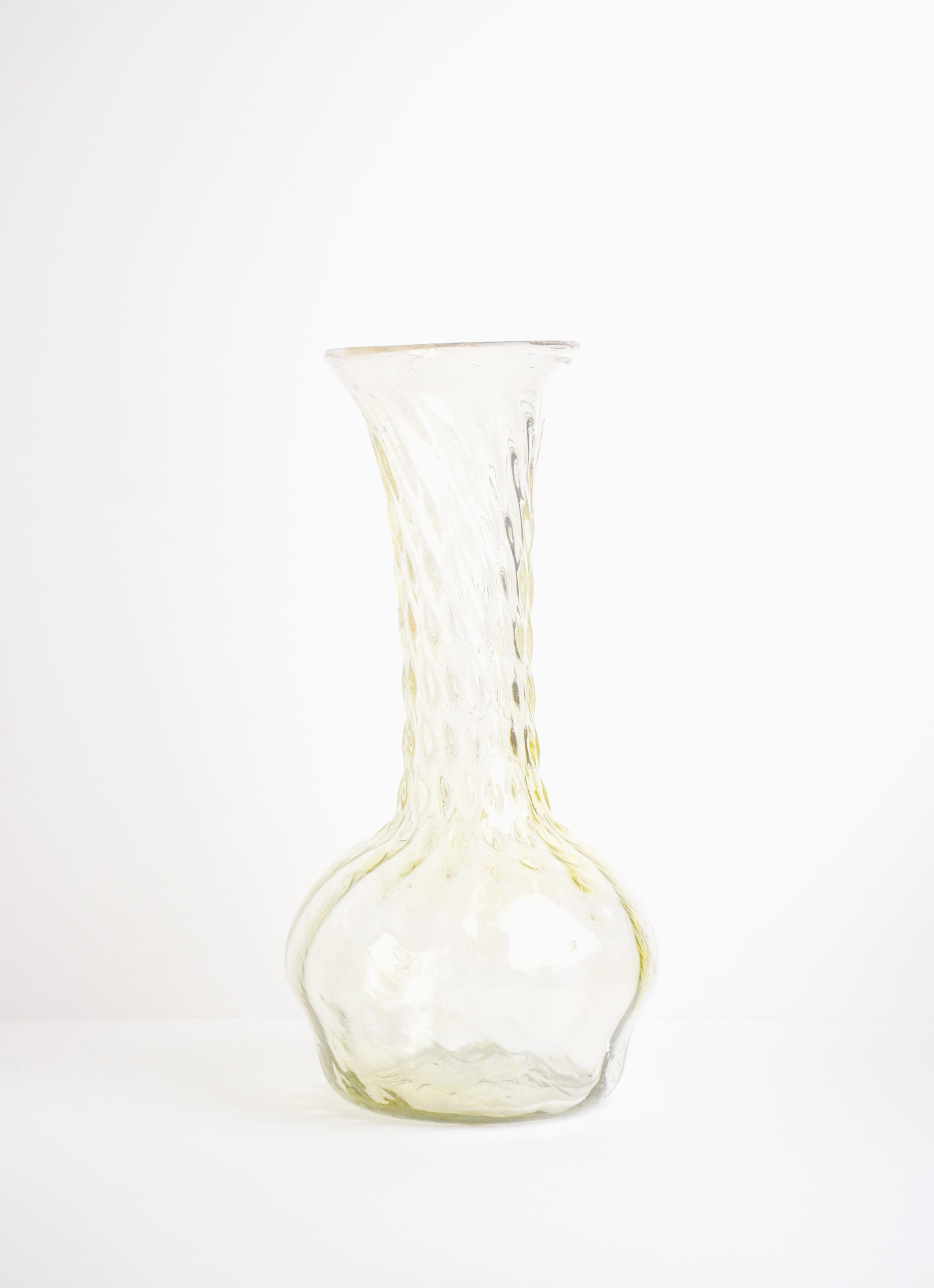 La Soufflerie - Twirl - Glass Vase - yellow