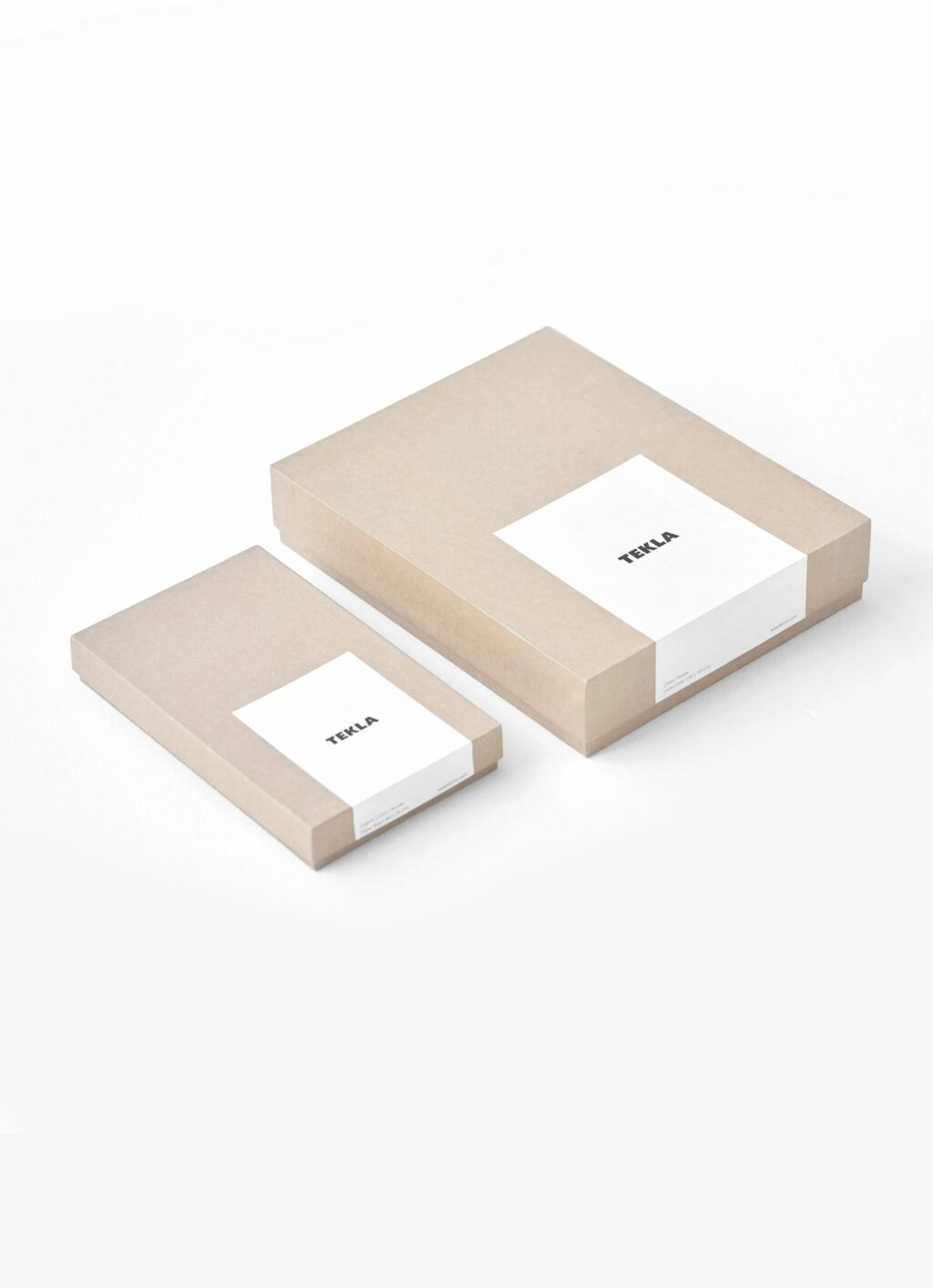 Tekla - Organic Cotton Percale Bedding - Duvet Cover - Broke White