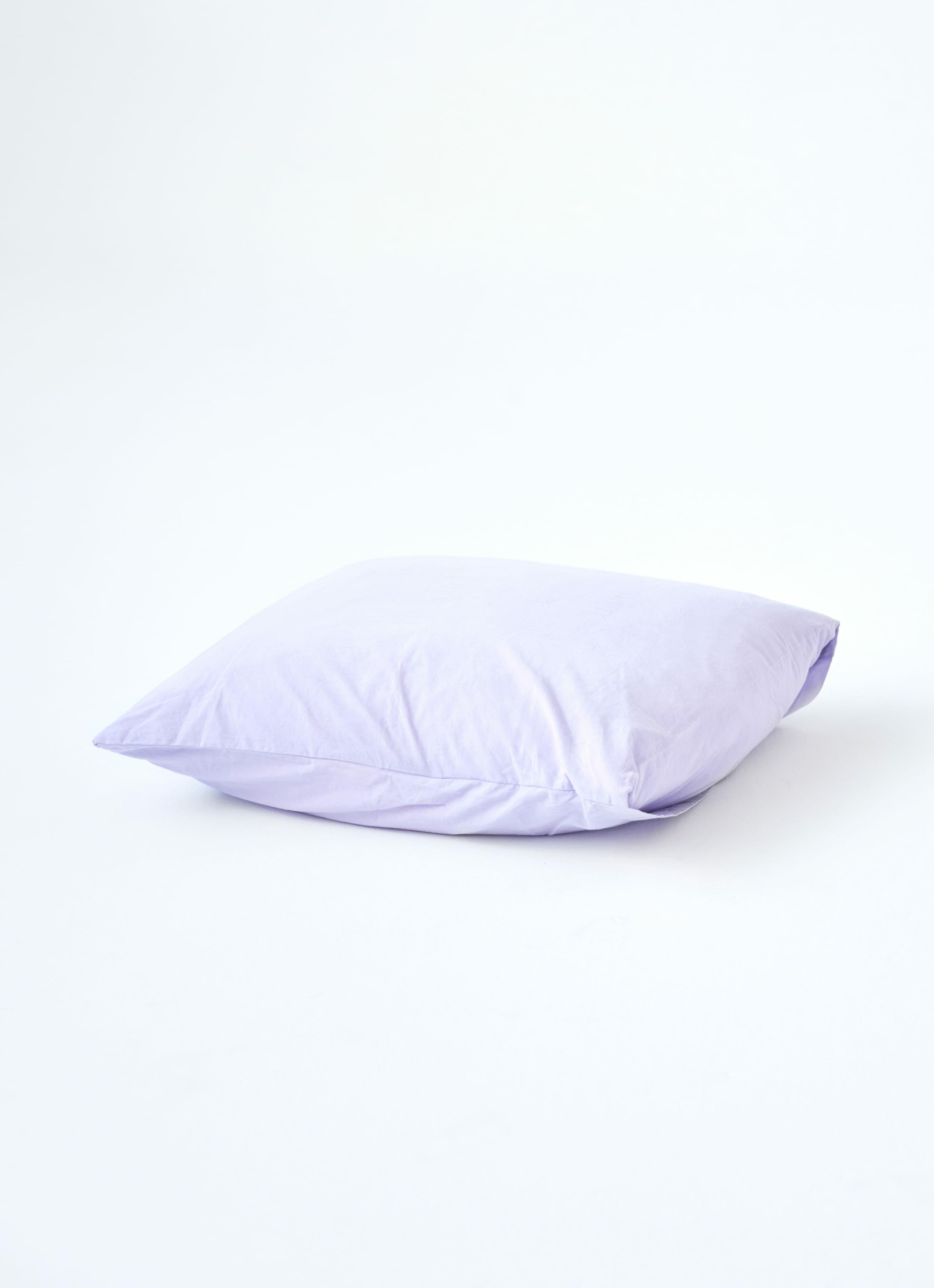 Tekla - Organic Cotton Percale Bedding - Pillow - Lavender
