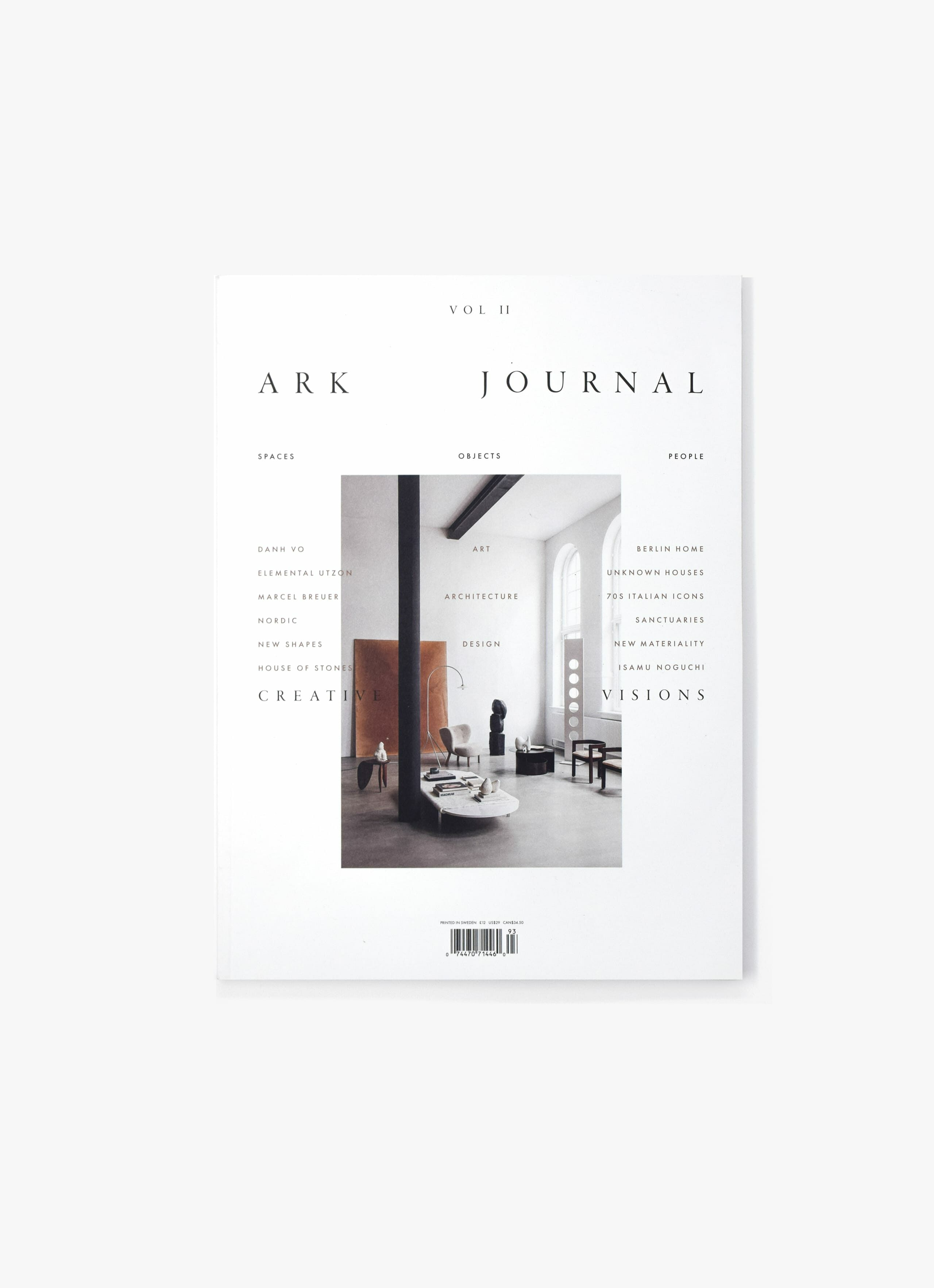 Ark Journal - Autumn - Winter 2019 - Volume 2