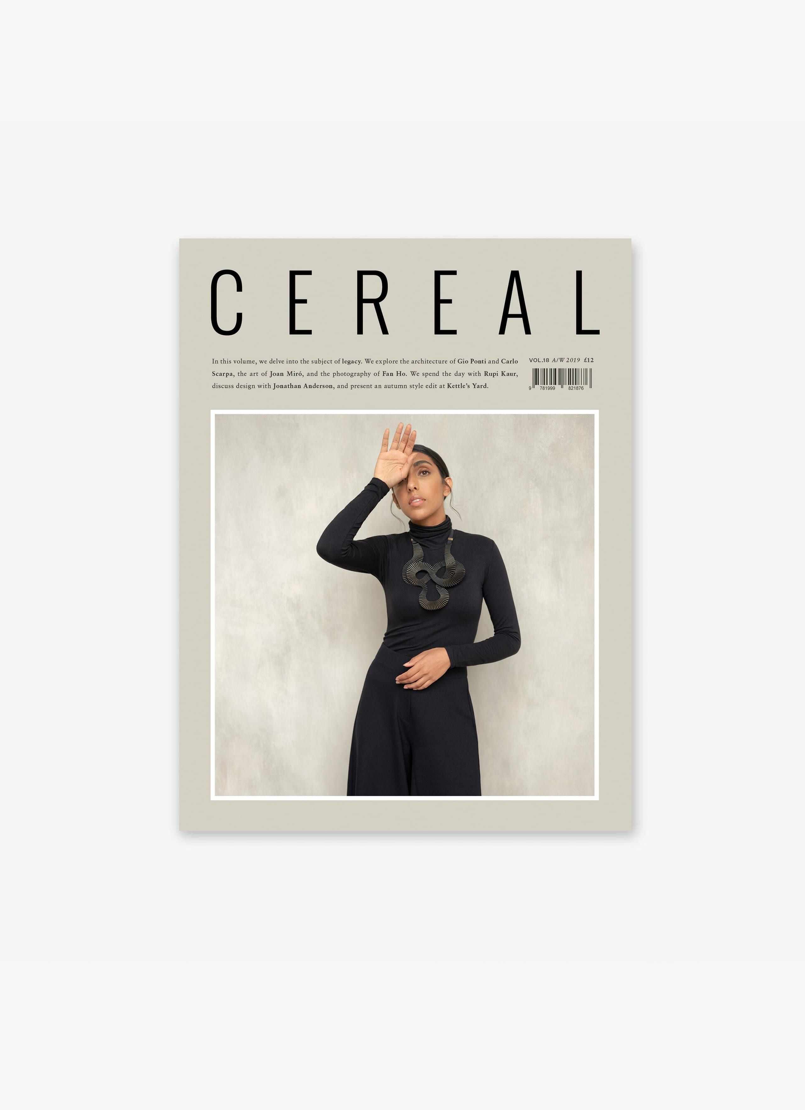 Cereal Magazine - Volume 18 - autumn-winter-2019