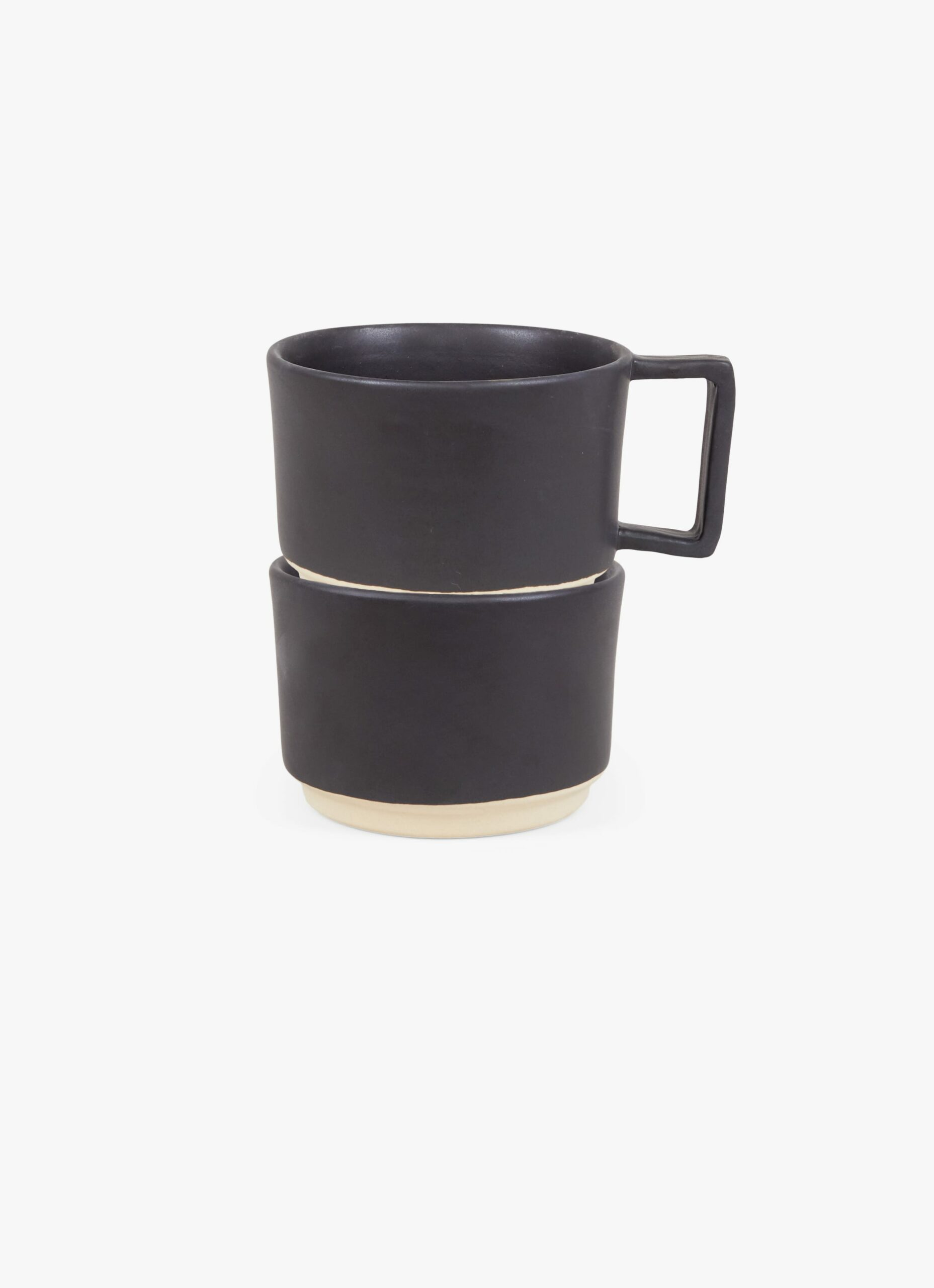 Frama - Otto - Low Mug with Handle - Black