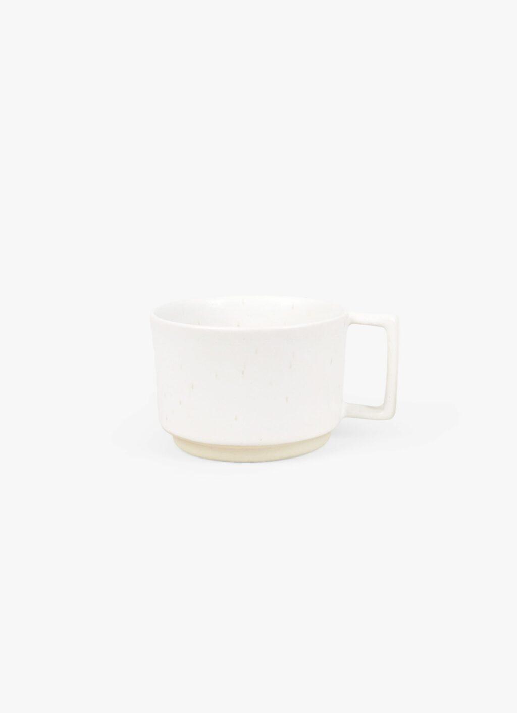Frama - Otto - Low Mug with Handle - White