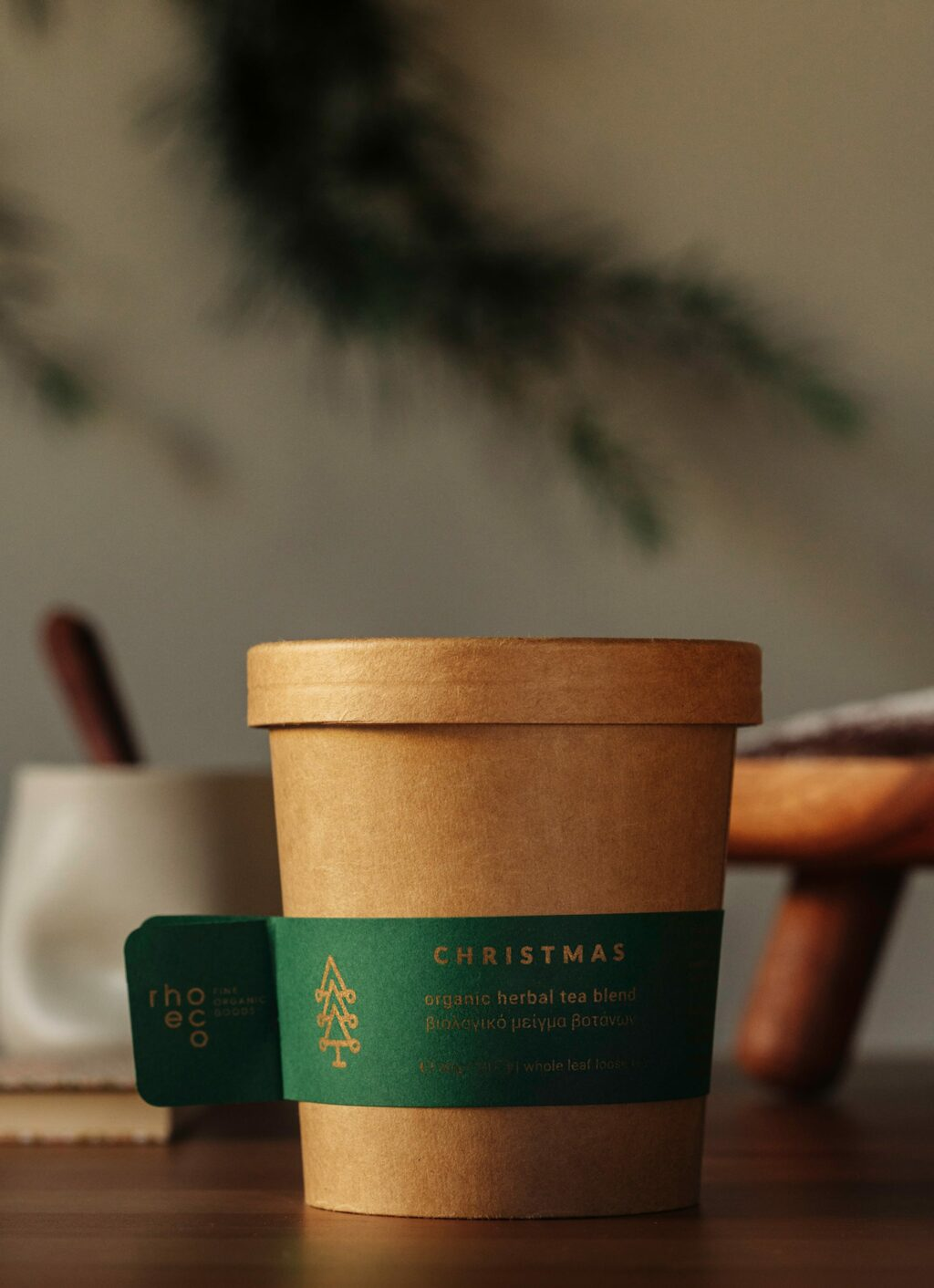 Rhoeco - Organic Tea - Drink it - Plant it - Christmas Edition