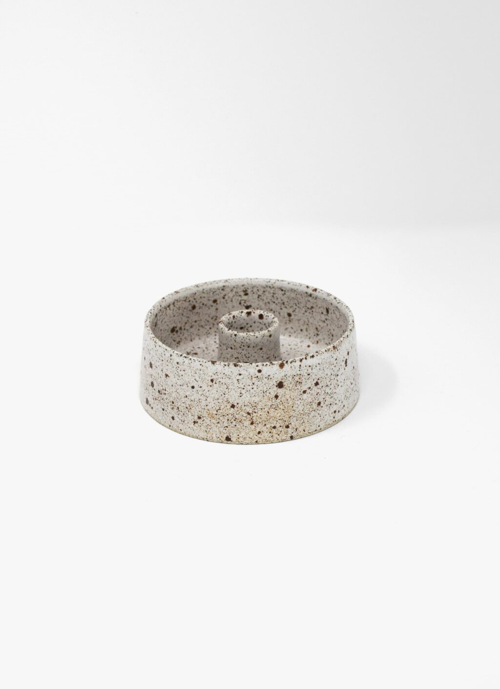 Viki Weiland - Handmade Stoneware - Candle Holder - small bowl