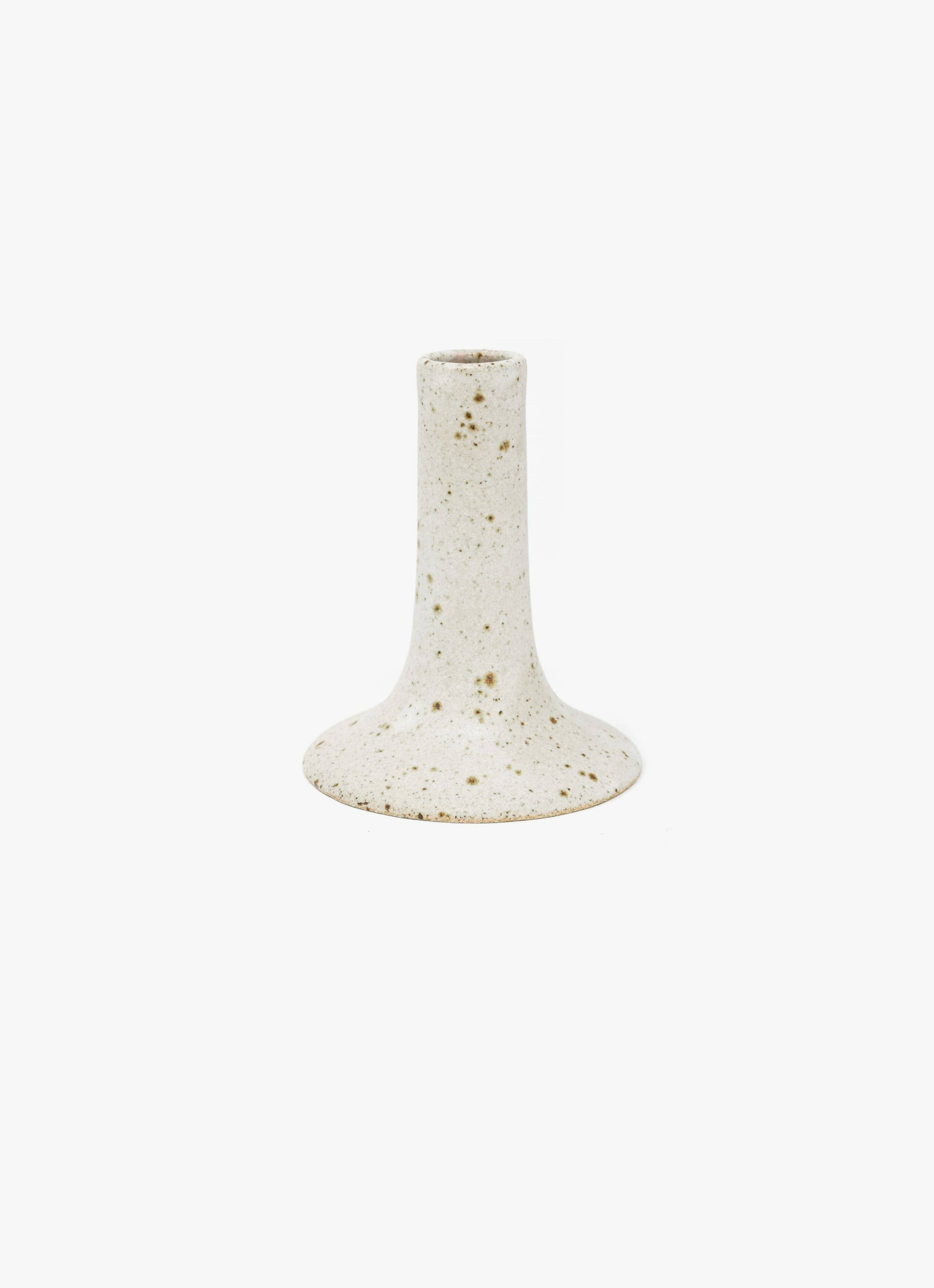 Viki Weiland - Handmade Stoneware - Candle Holder - tall