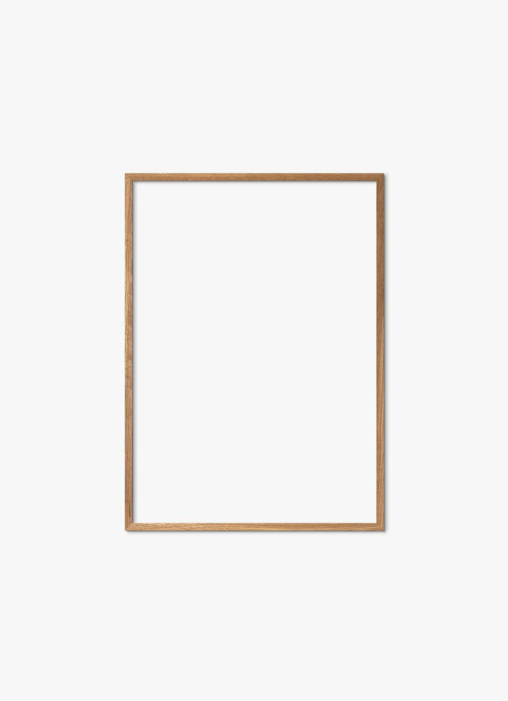 Solid Oak Frame - Natural - 50x70 cm