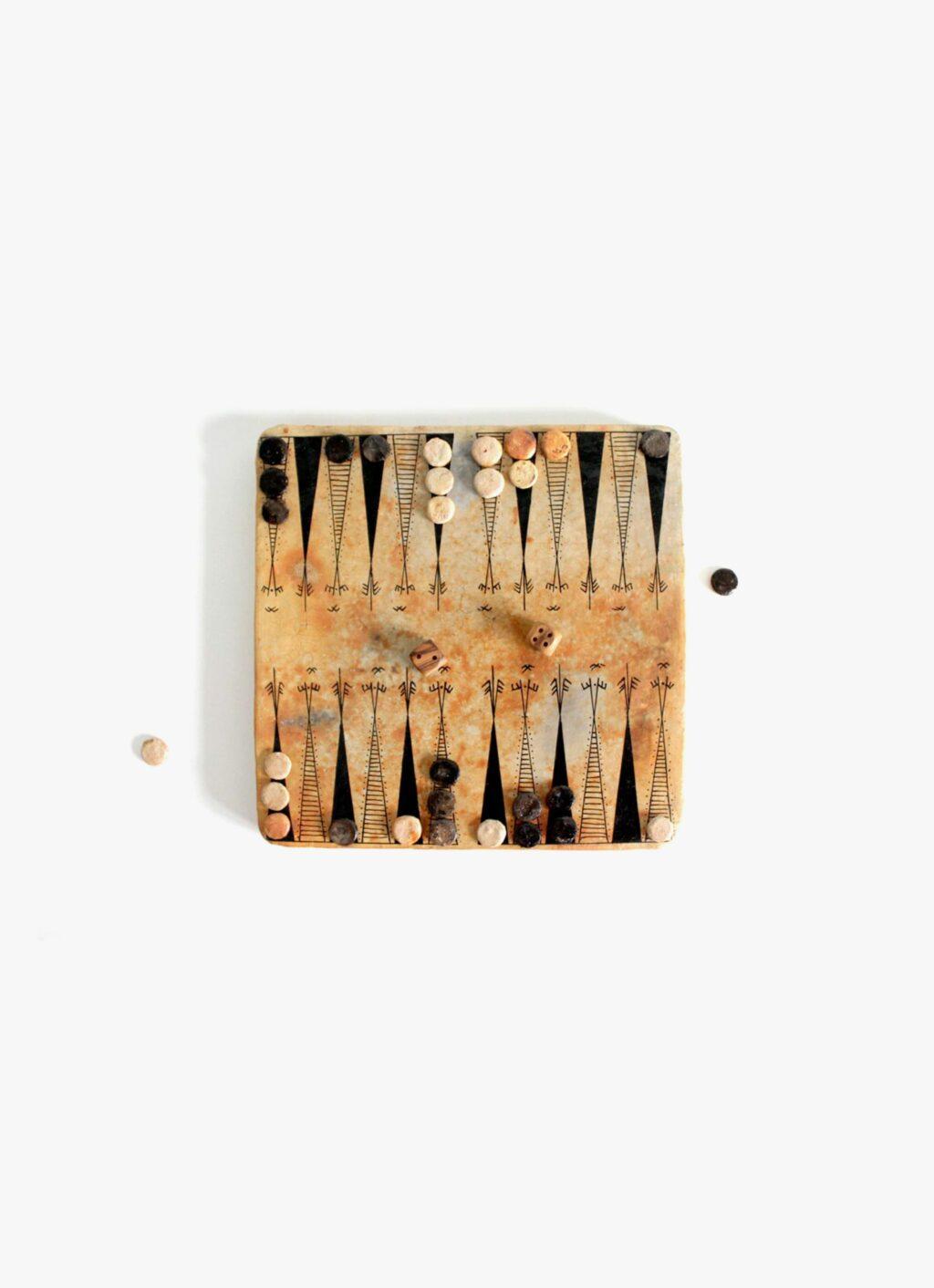 Flayou - Chich-Bich - Backgammon black