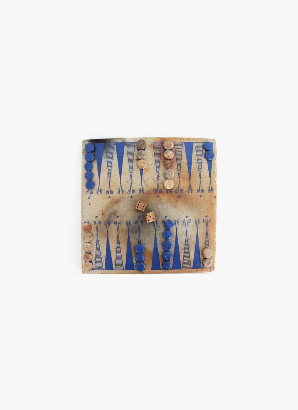 Flayou - Chich-Bich - Backgammon - Special Edition - Neon blue
