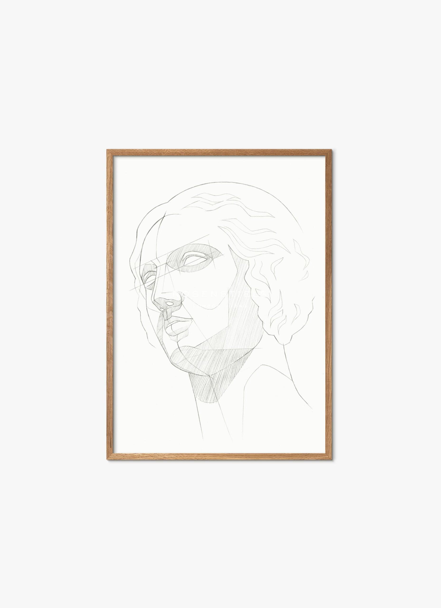 Aurora Bell - Art Print - Classic Study - 30x40cm