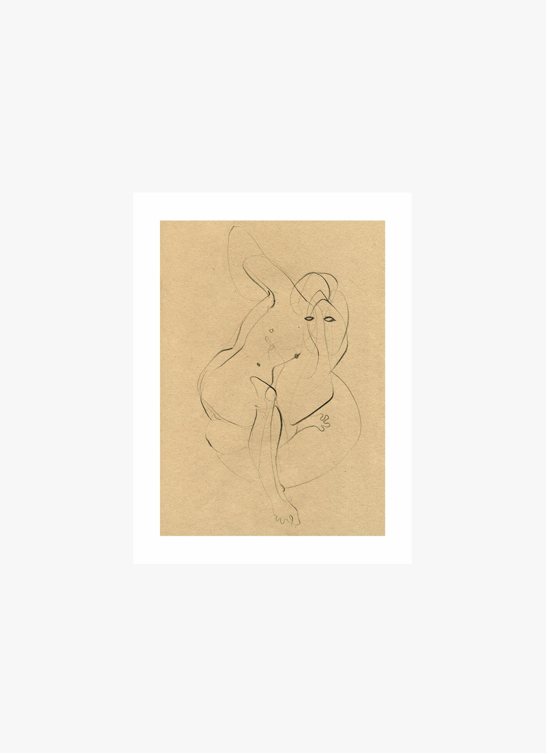 Ekaterina Koroleva - Art Print - Dynamic Drawing - 30x40cm