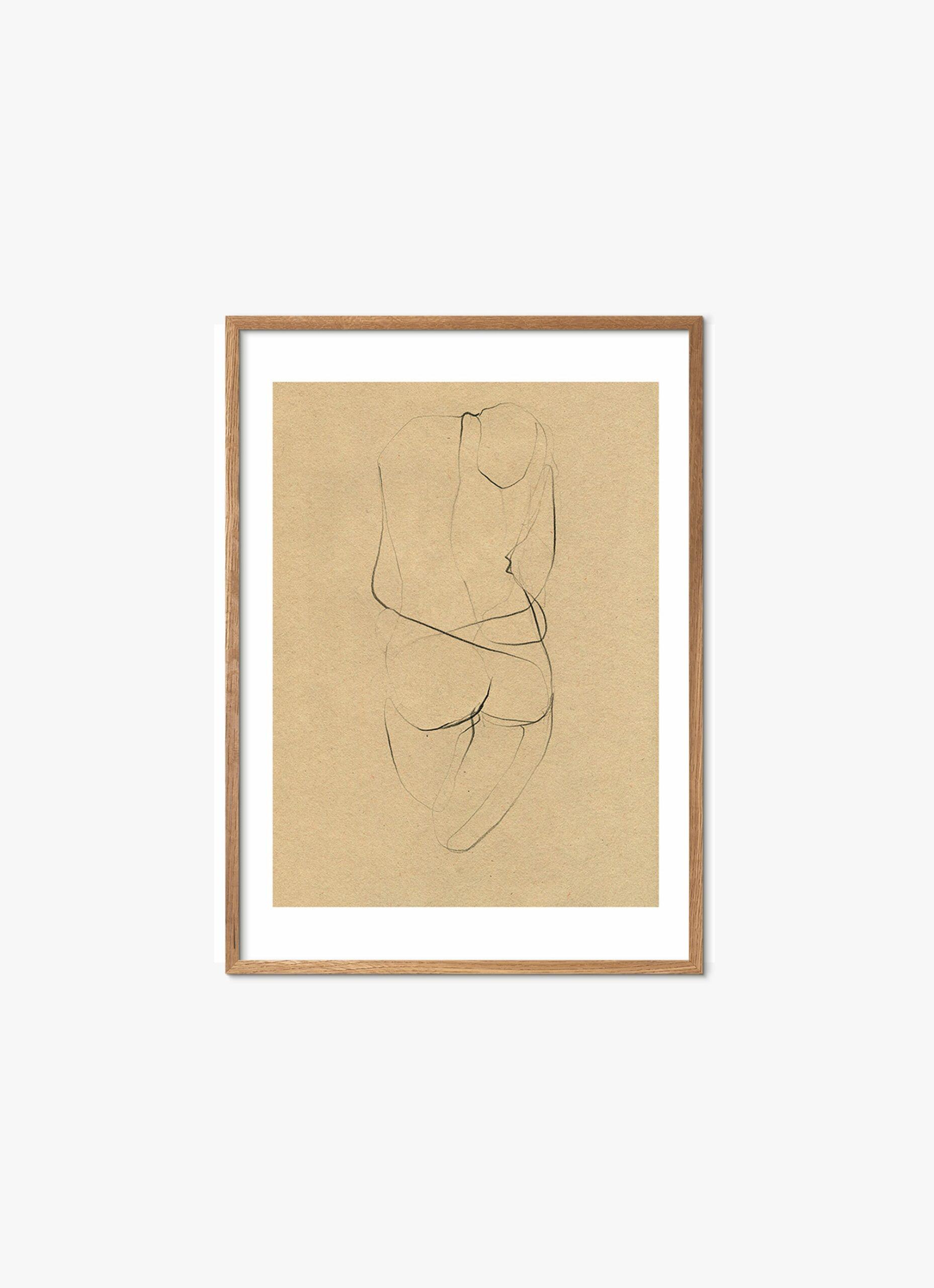 Ekaterina Koroleva - Art Print - Nude 02 - 30x40cm