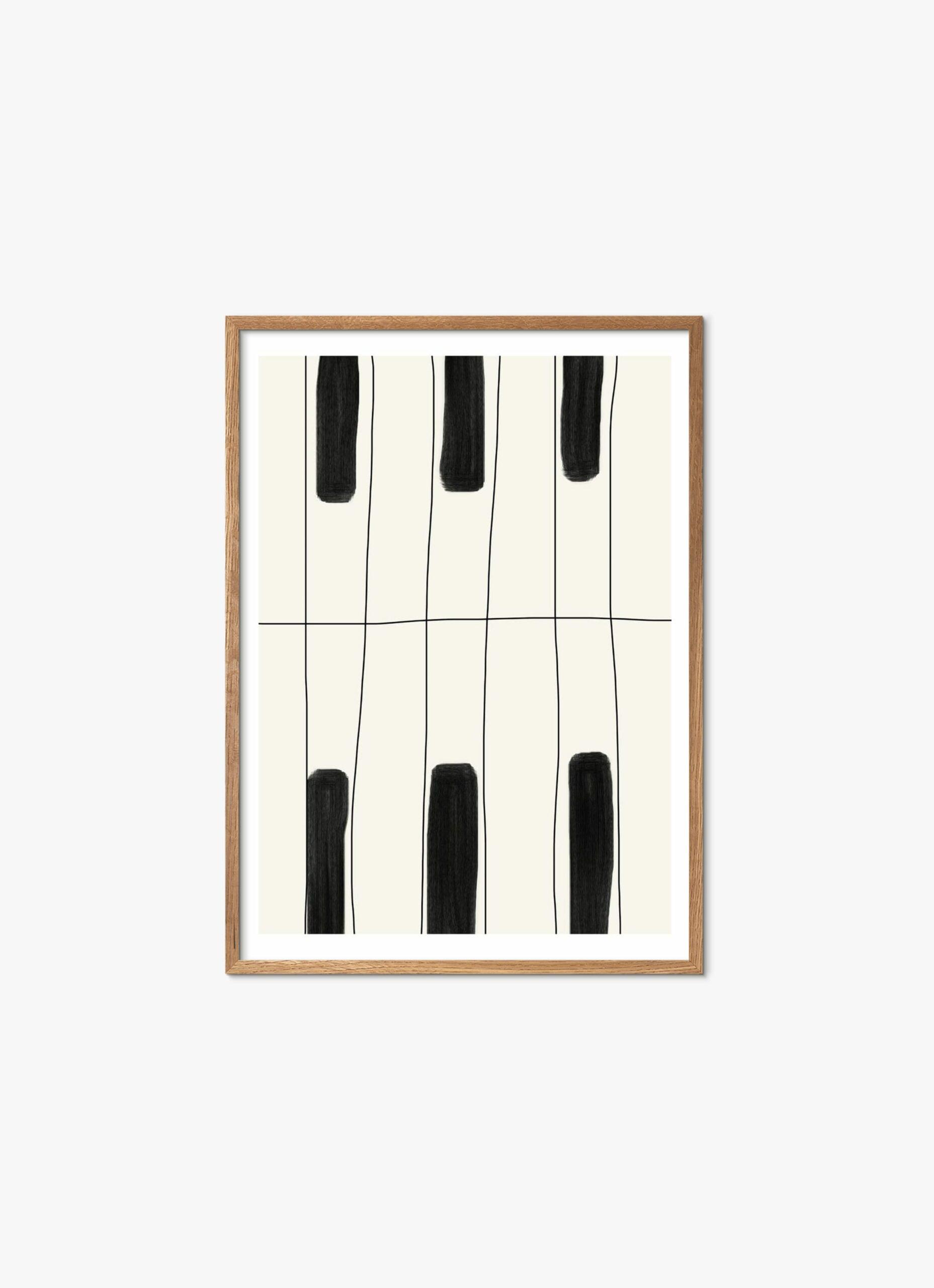 Lisa Wirenfelt - Art Print - The Piano - 50x70cm