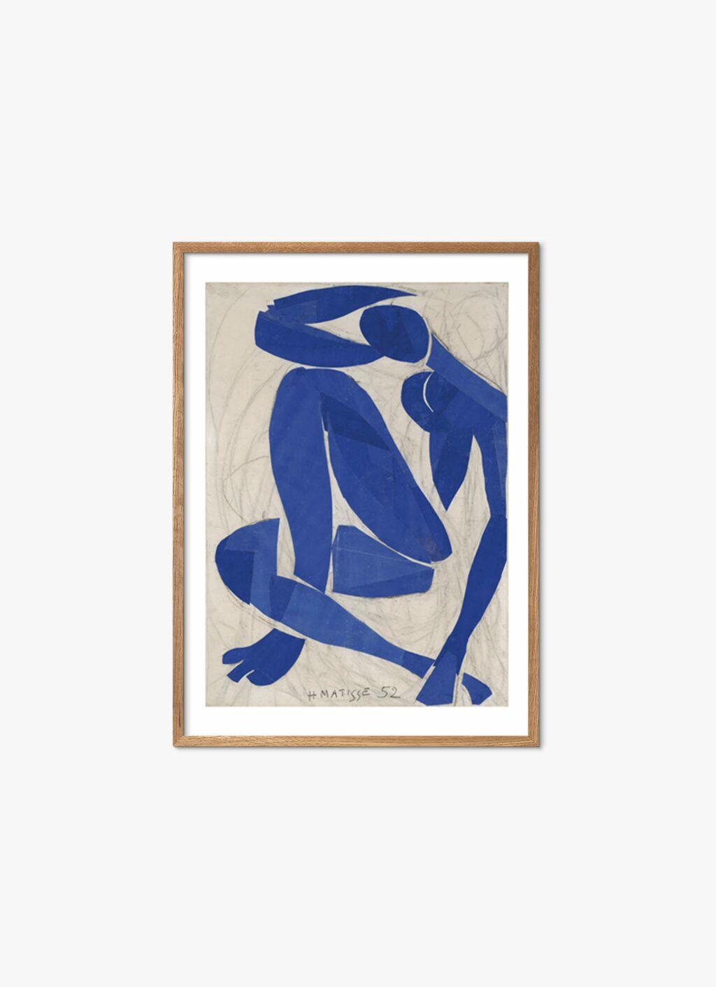 Matisse - Art Print - Nu Bleu IV - 60x80cm