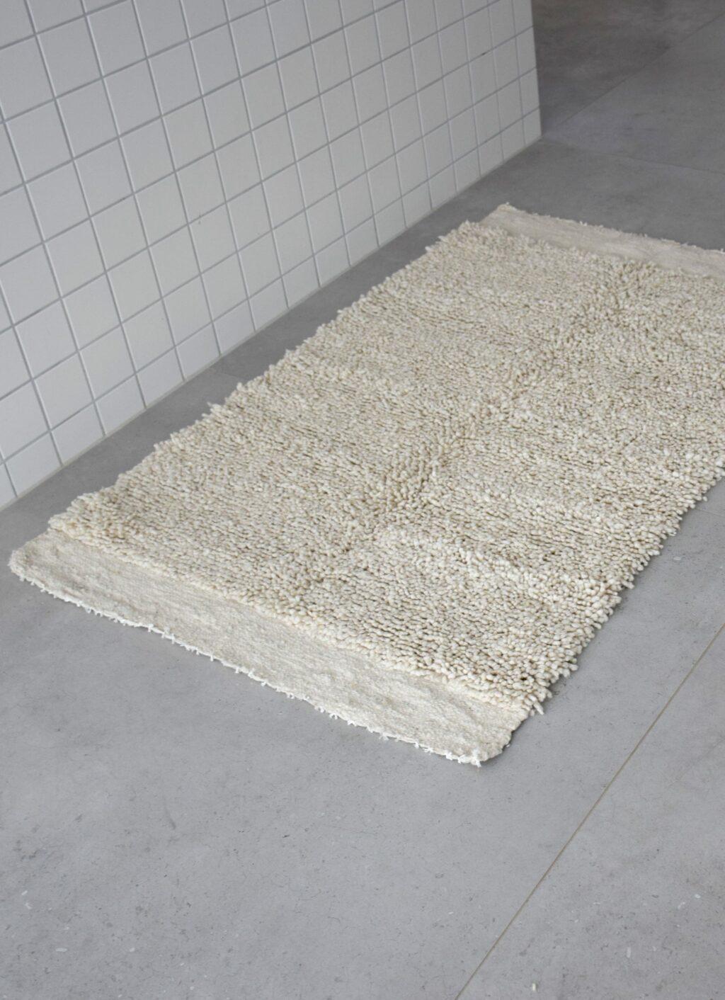 Que onda vos - Handwoven rug - Pelu Blanco I - 85x 140cm