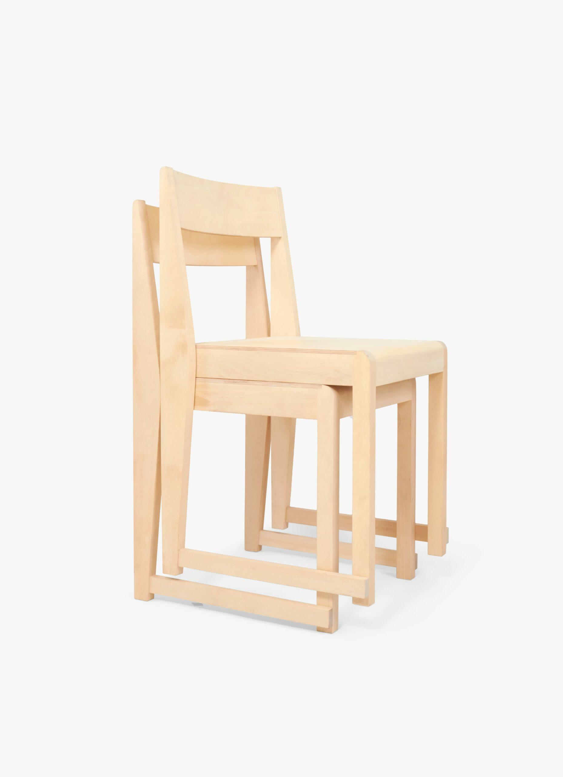 Frama - Chair 01 - Natural Wood Seat