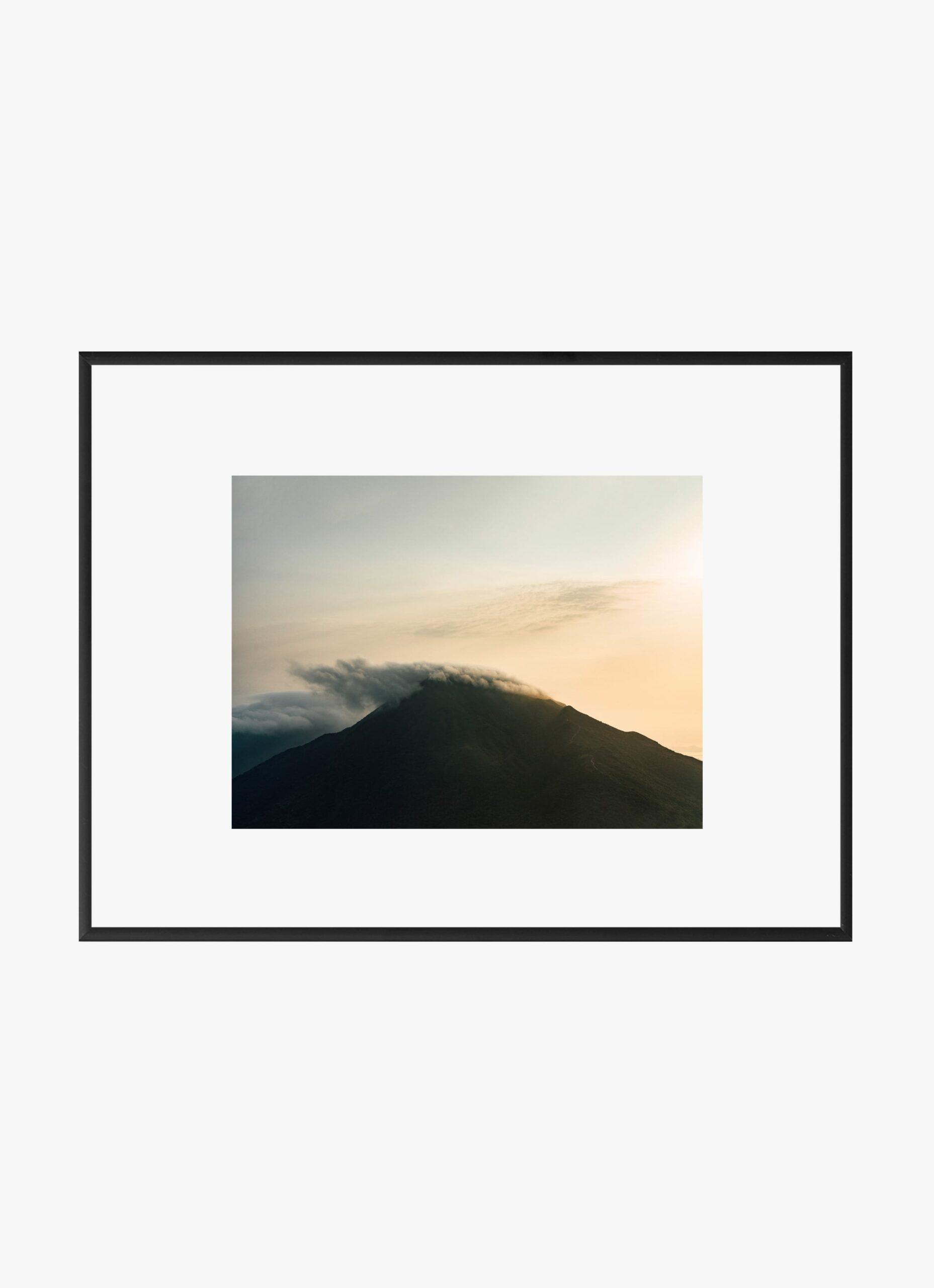 Julius Hirtzberger - Fine Art Print - Ausbruch - A4
