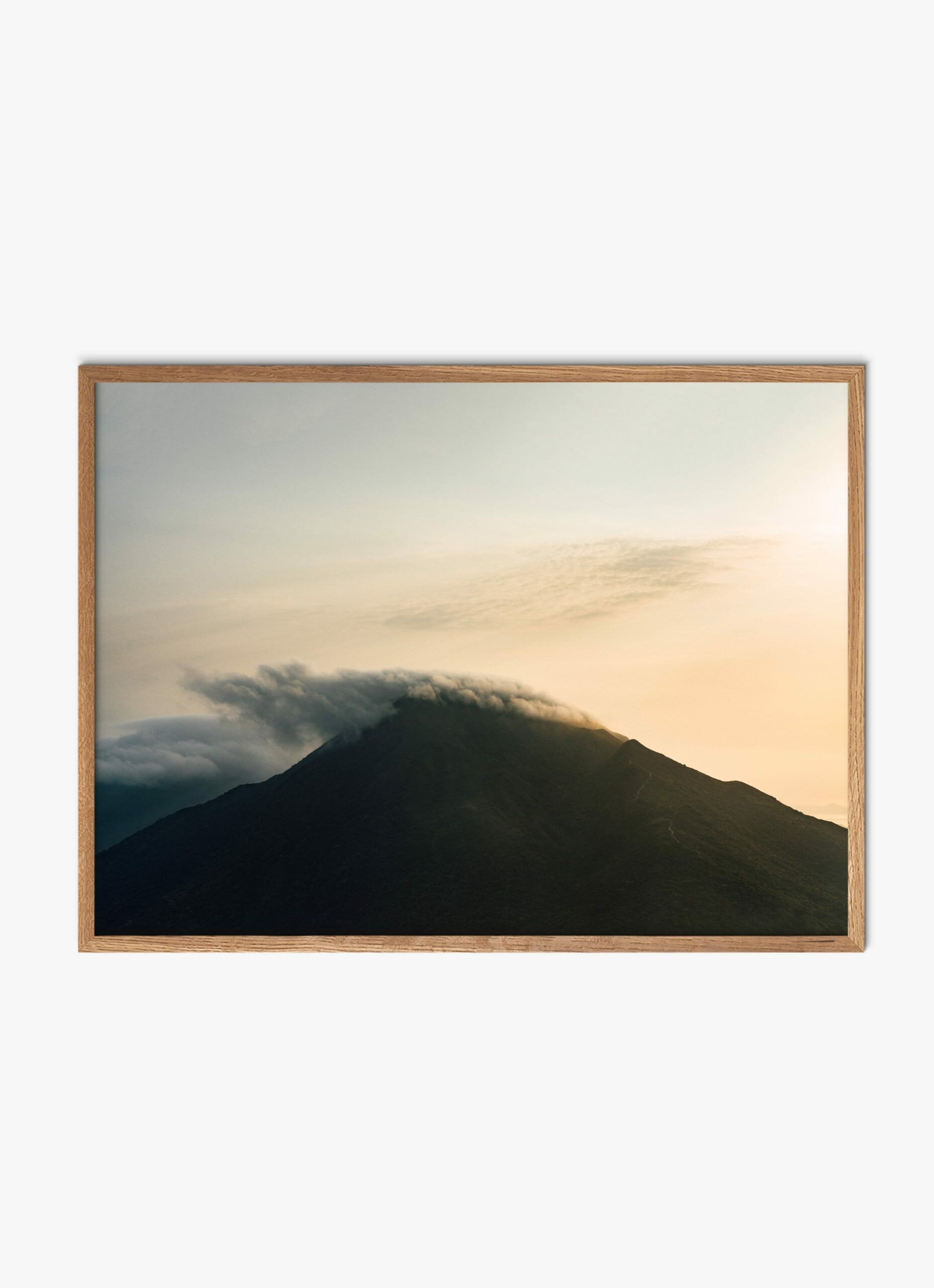 Julius Hirtzberger - Fine Art Print - Ausbruch - A3