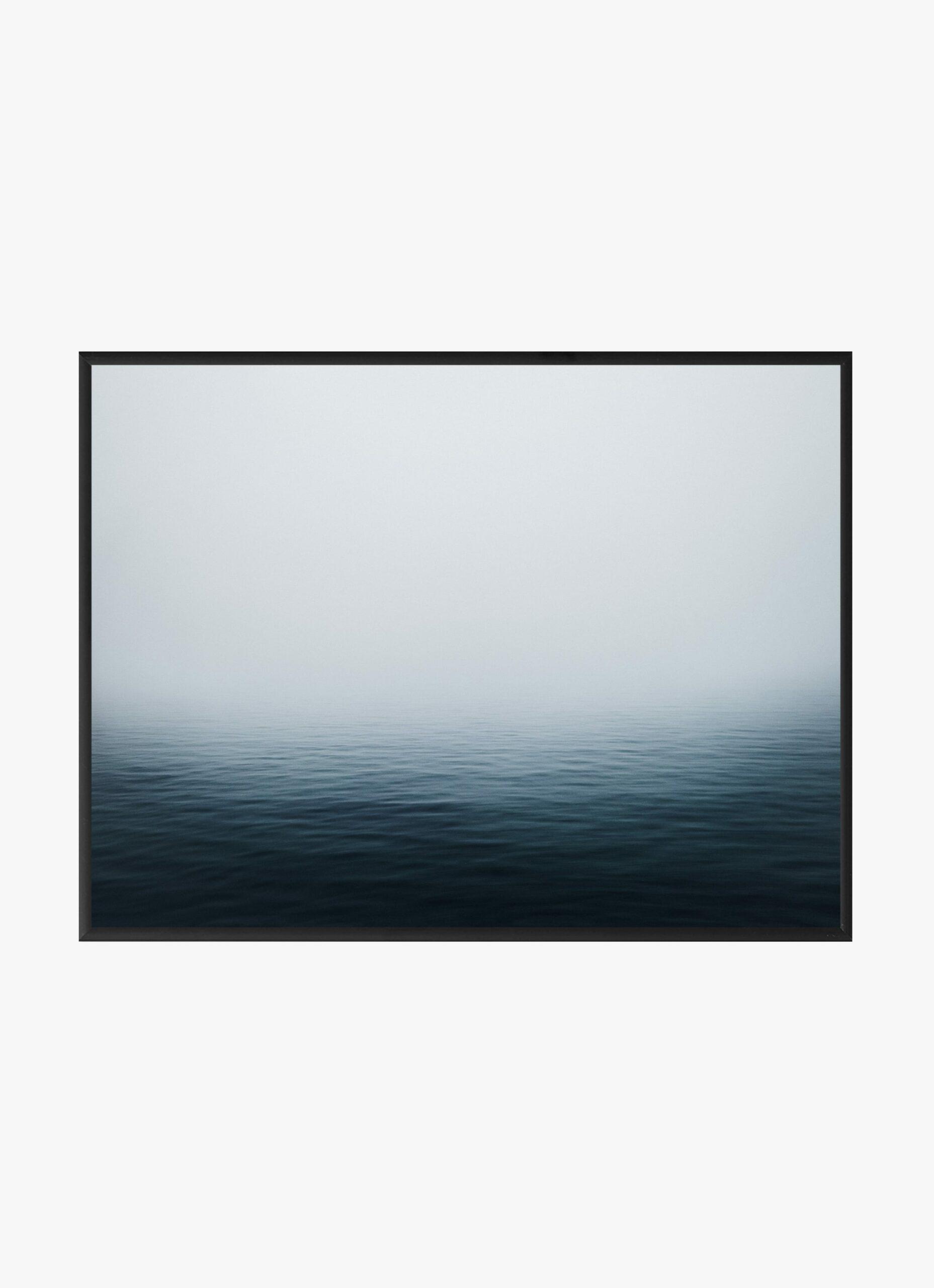 Julius Hirtzberger - Fine Art Print - Graublau - A3