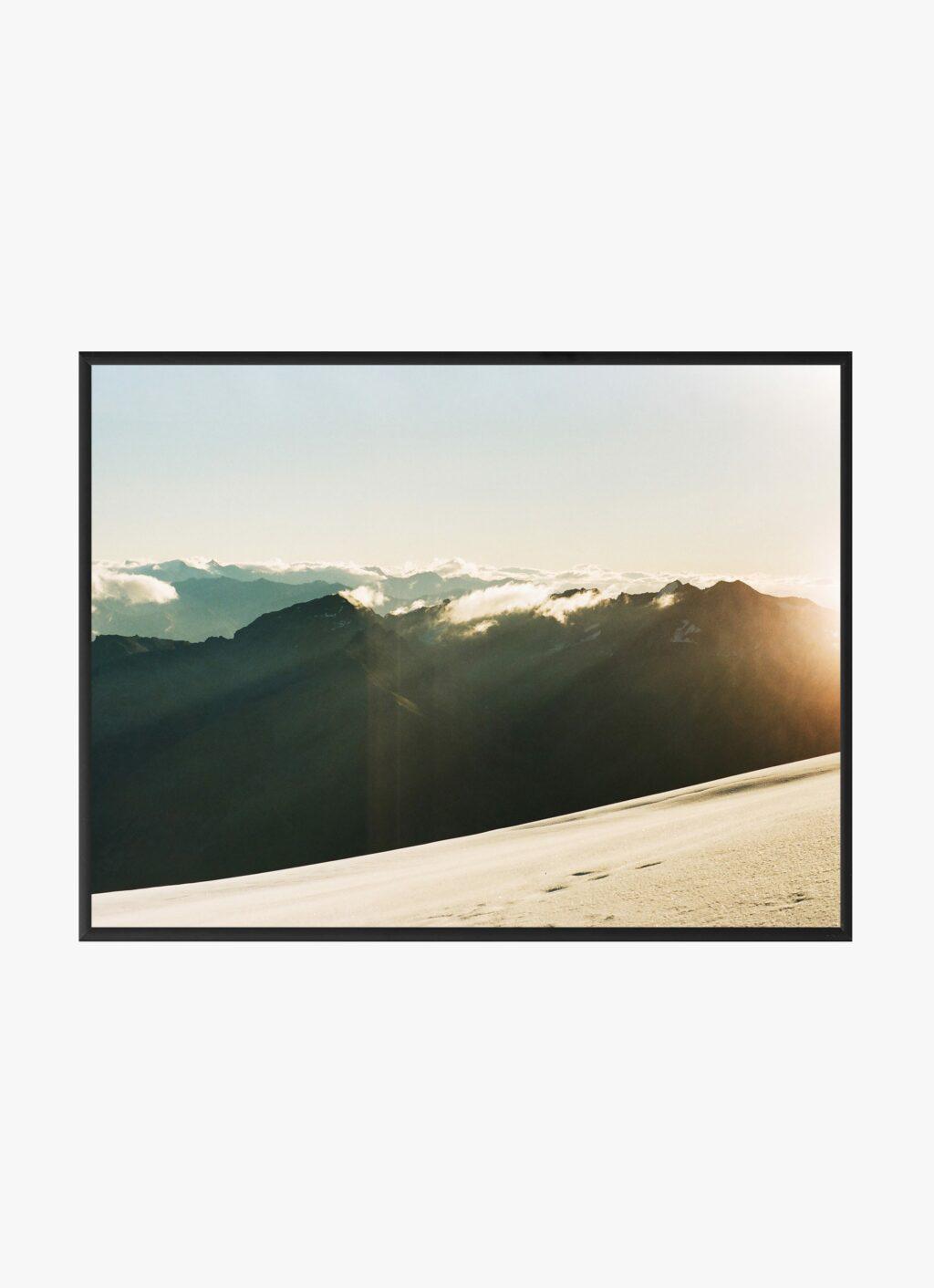 Julius Hirtzberger - Fine Art Print - Morgenstund - A4