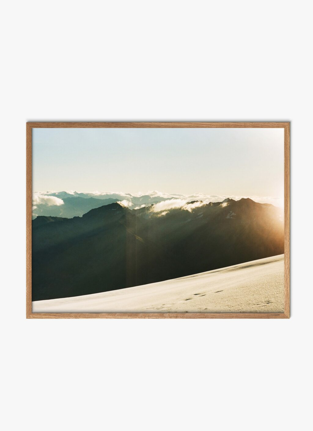 Julius Hirtzberger - Fine Art Print - Morgenstund - A3