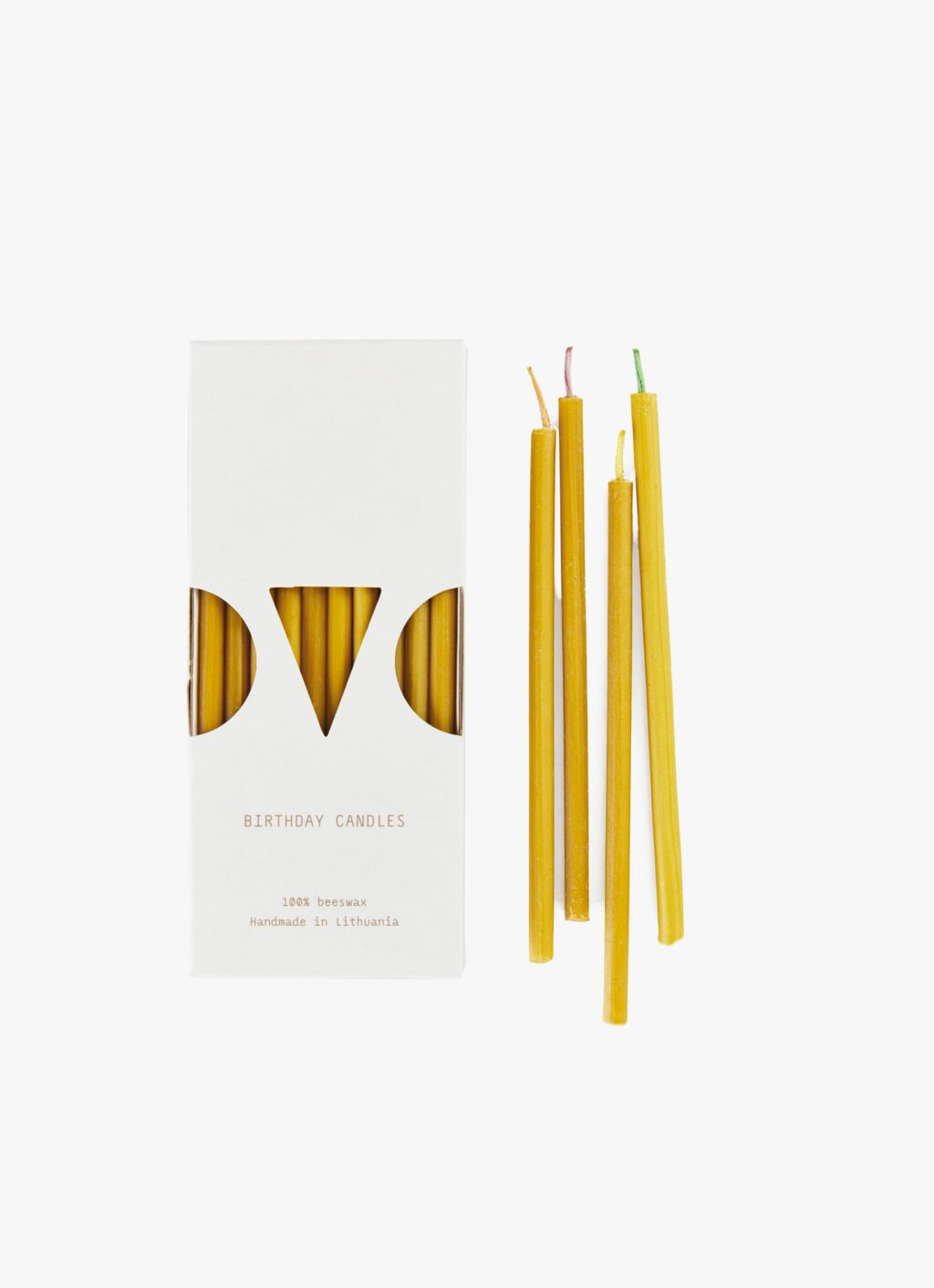 Ovo Things - Beeswax Birthday Candles - 10pc