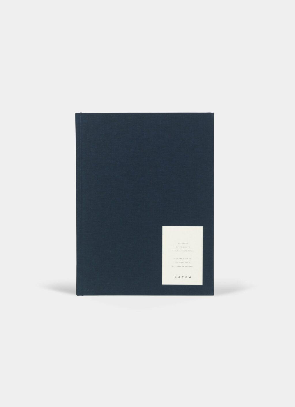 Notem - Even Notebook - L - Dark Blue