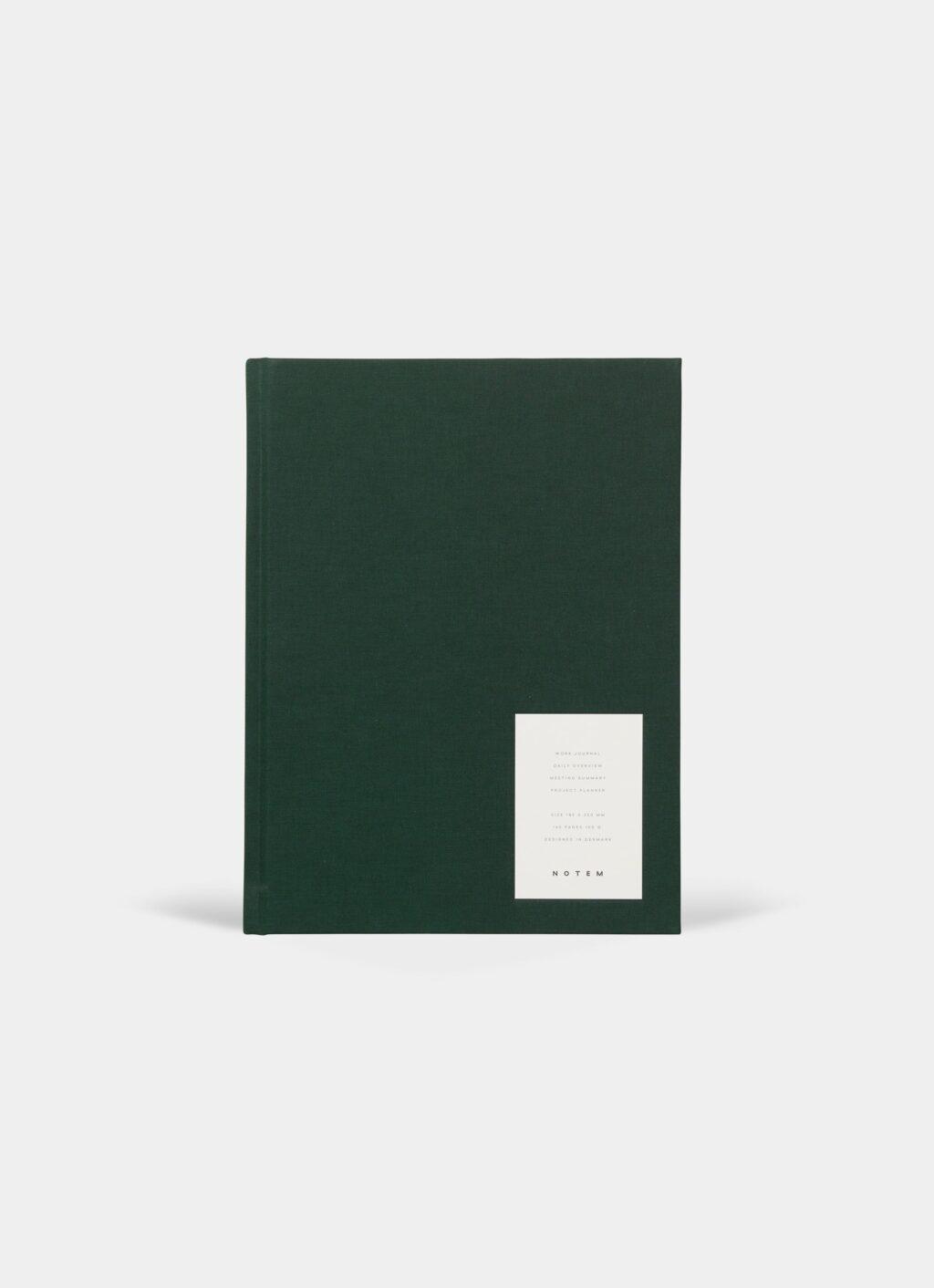 Notem - Even Work Journal - L - Dark Green