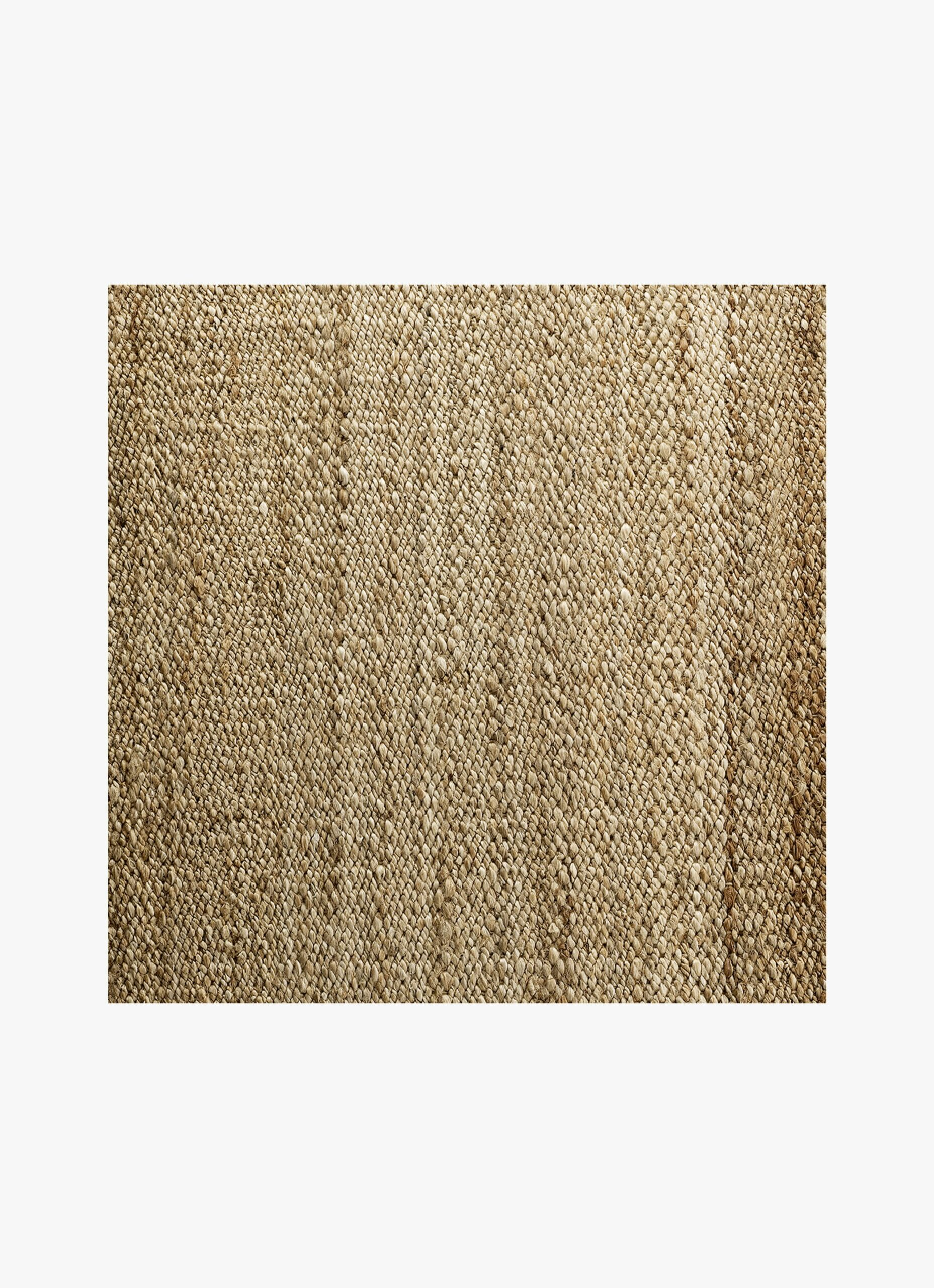 Handwoven Jute Rug - natural - Made to order - dif. sizes