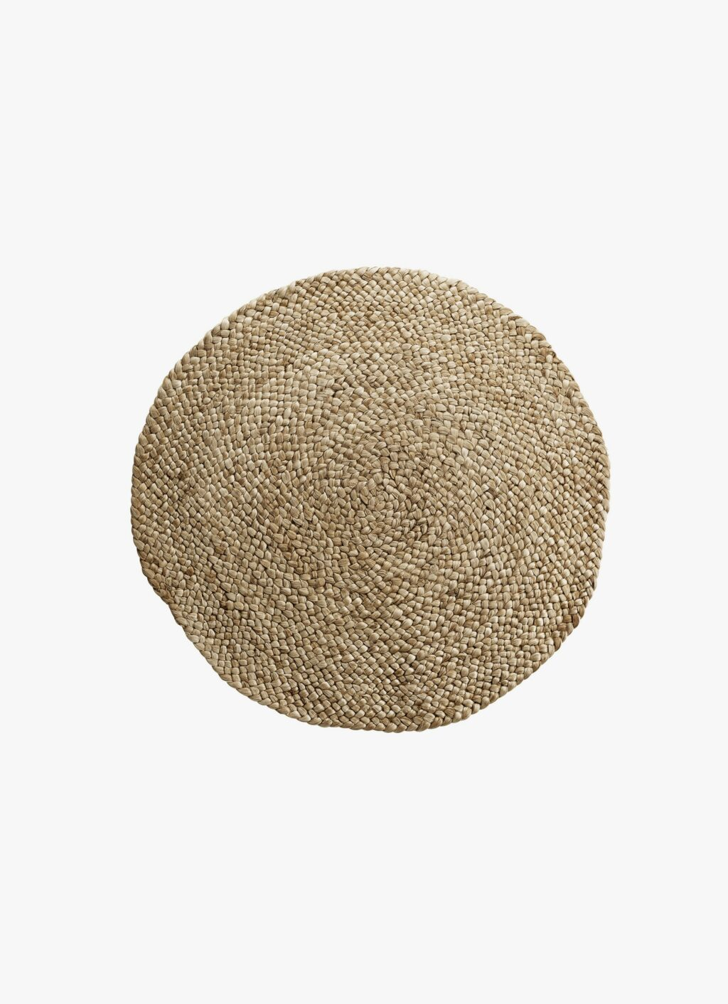 Handwoven Jute Rug - natural - Made to order - round - dif. sizes