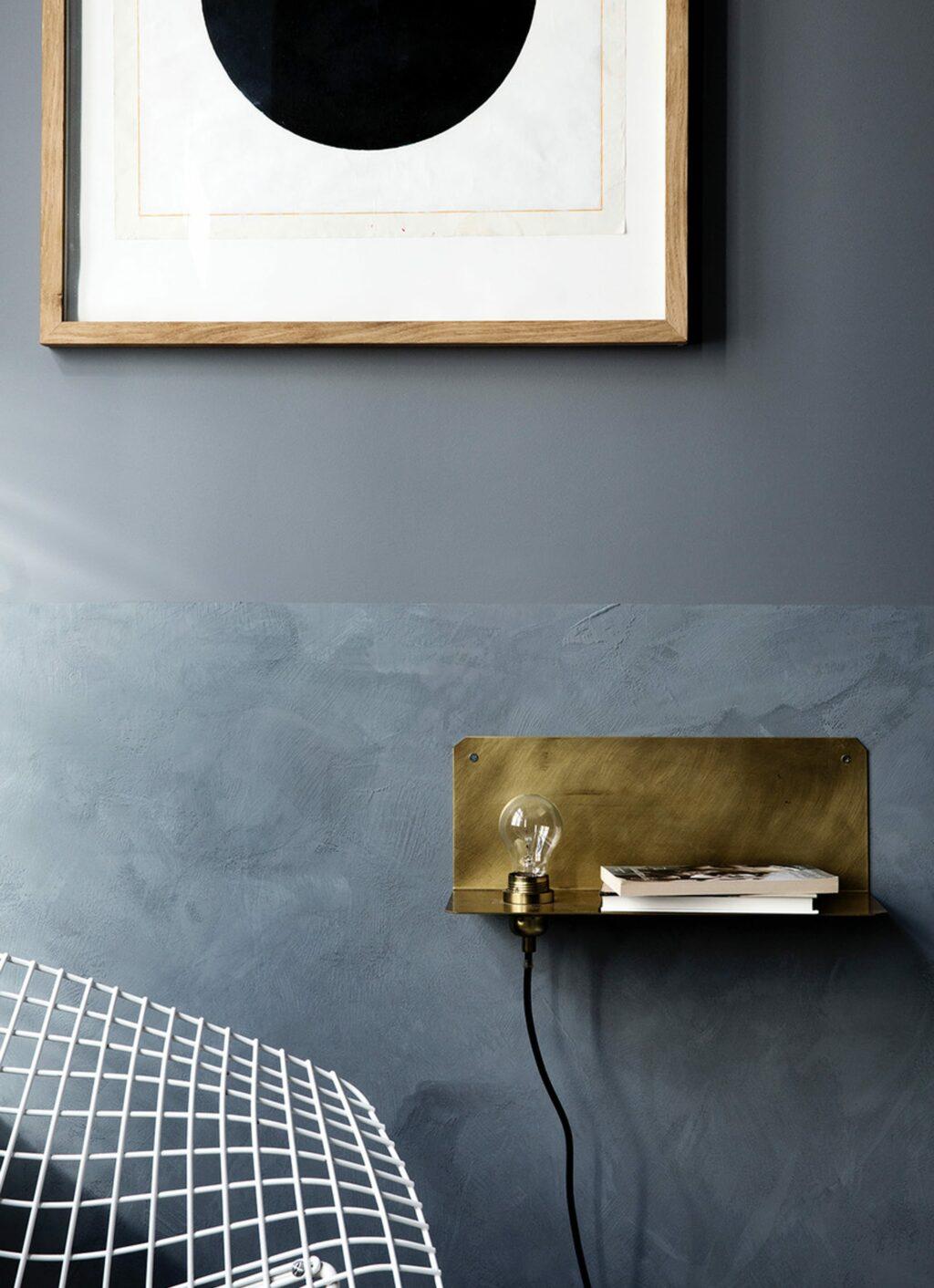 Frama - 90° Wall Light – solid brass