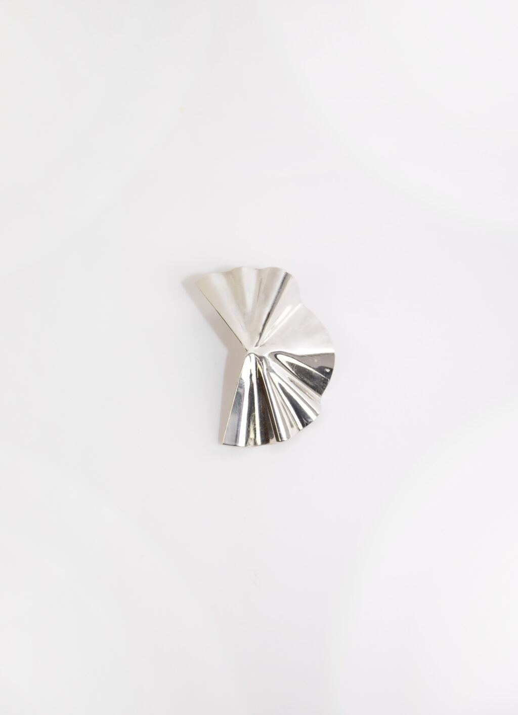 Oni Studio - Folded Earrings - Recycled silver