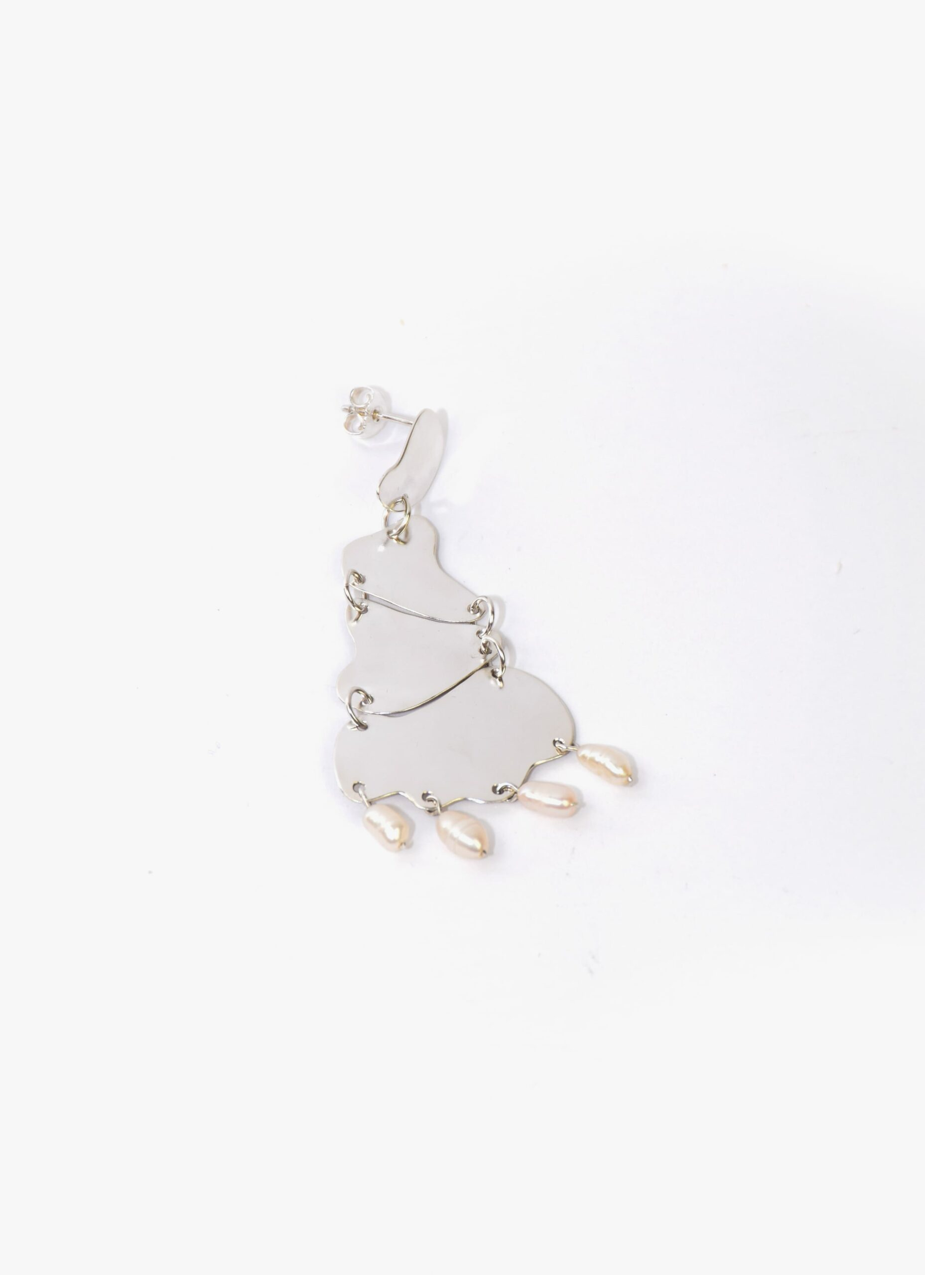 Oni Studio - Roshan Earring - Recycled silver