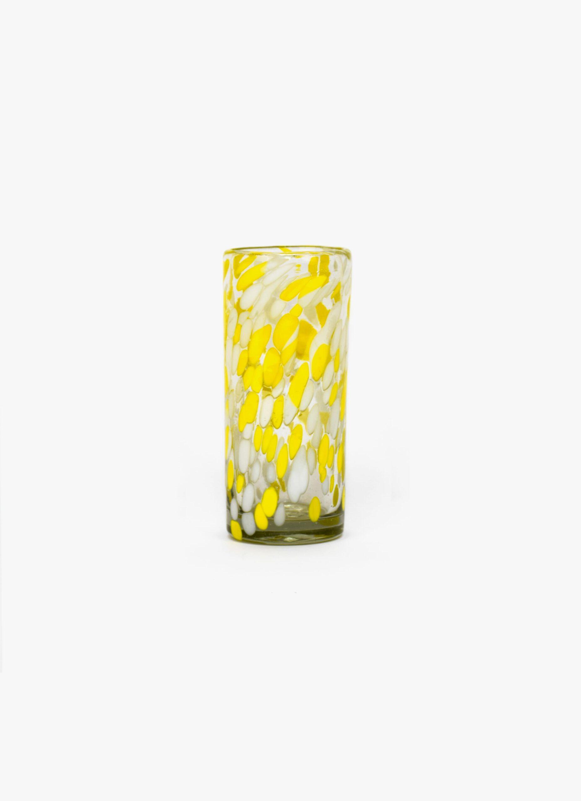 La Muerte Tiene Permiso - Amor Amarillo - Highball Glass