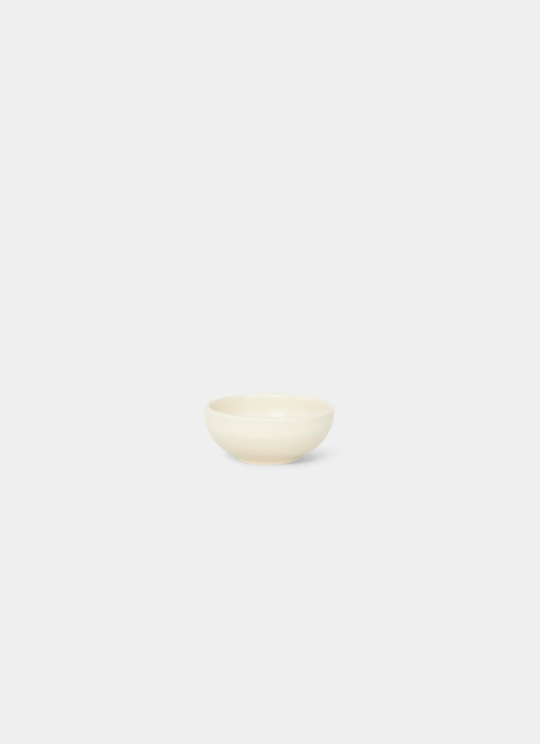 Frama - Otto Stoneware - Shallow Bowl - Natural - XS