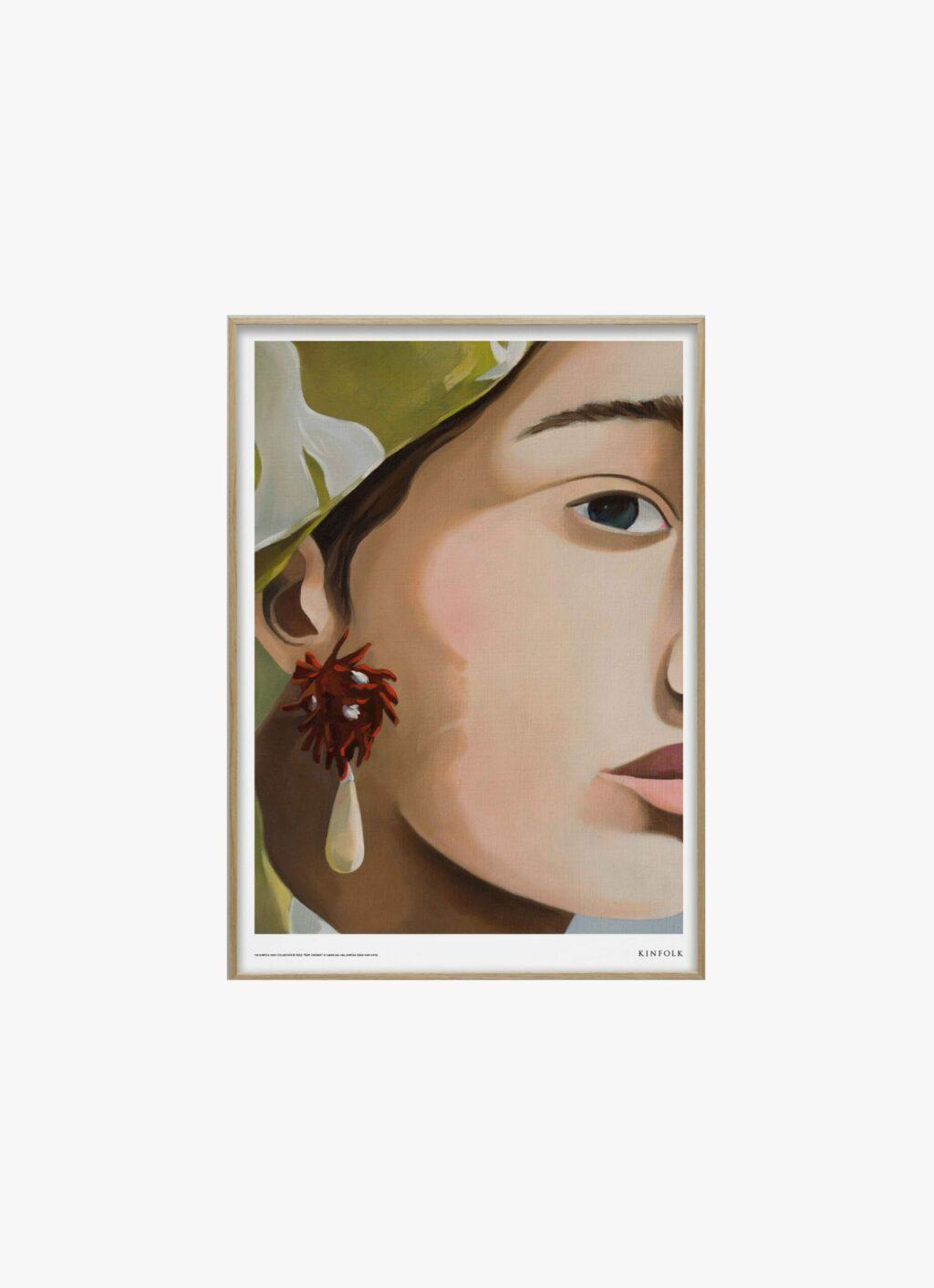 Alium - Kinfolk Print Collection - Diana Dal-Pra - Soft Strokes 01 - 50x70cm