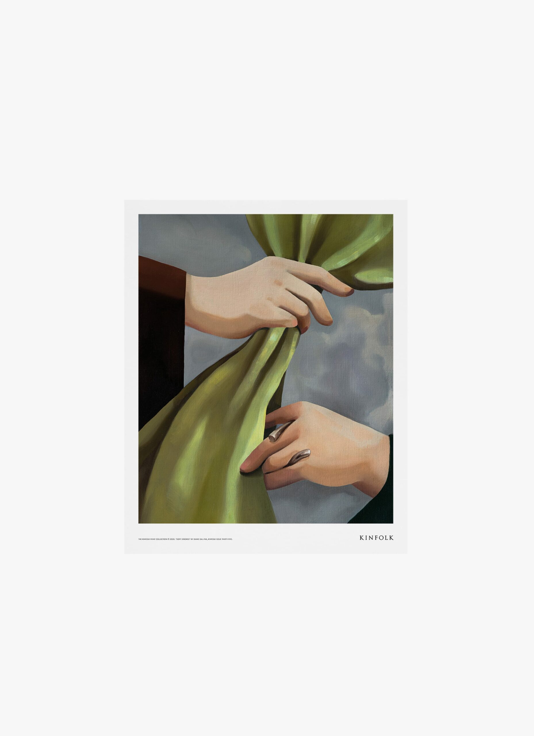 Alium - Kinfolk Print Collection - Diana Dal-Pra - Soft Strokes 02 - 40x50cm
